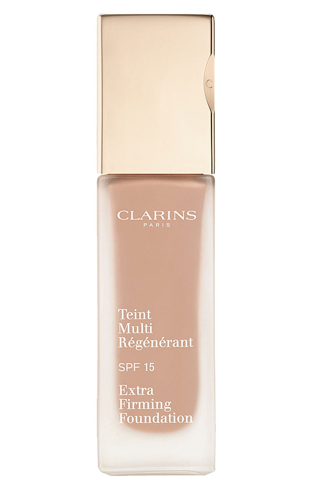 CLARINS, Extra-Firming Foundation SPF 15, Main thumbnail 1, color, 107 - BEIGE