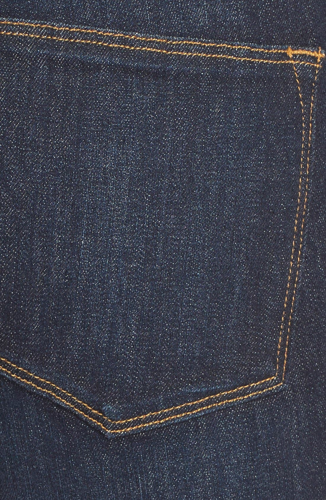 FRAME, 'Le High Flare' Jeans, Alternate thumbnail 9, color, SUTHERLAND