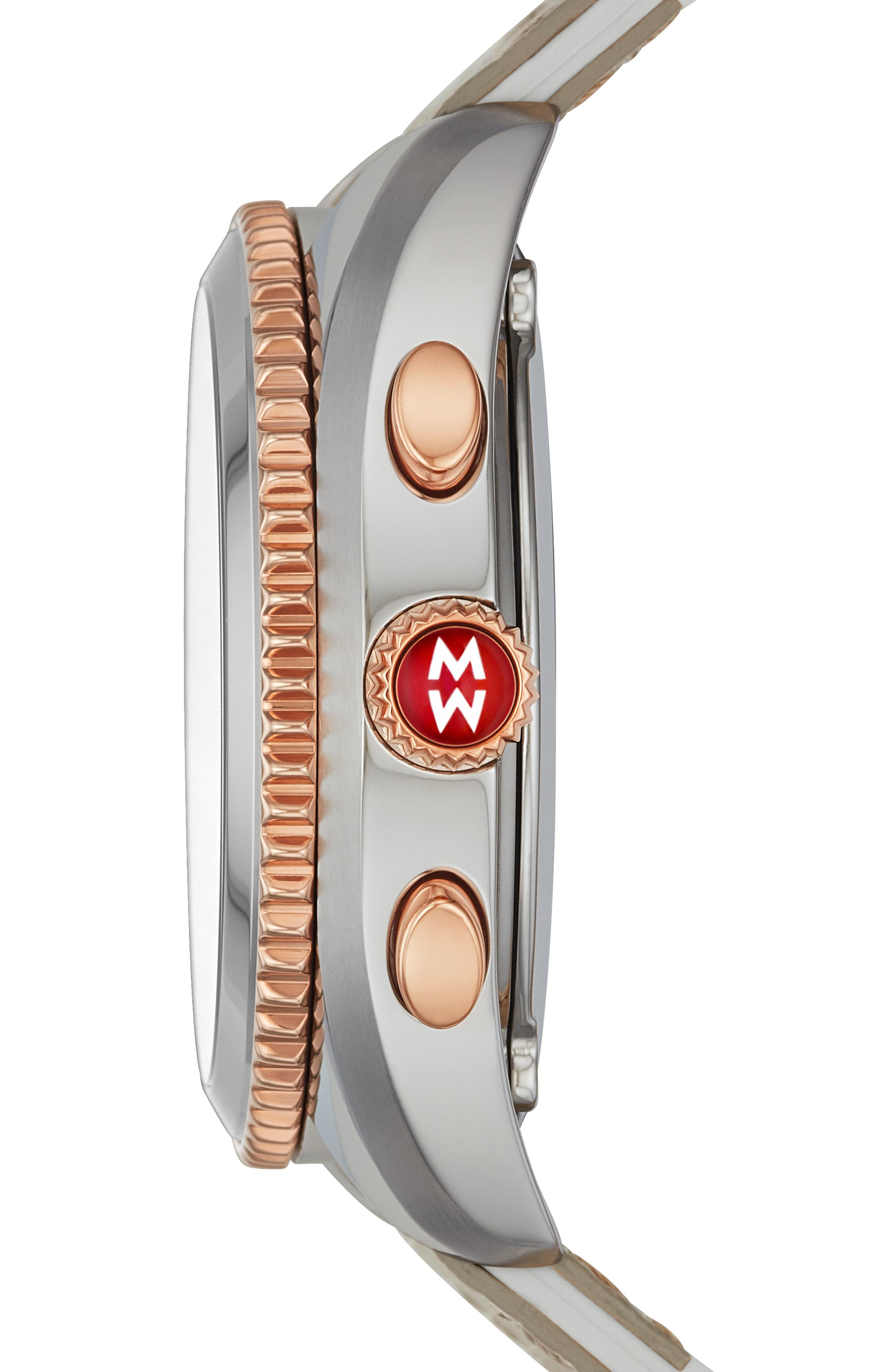 MICHELE, Hybrid Tracker Smart Watch, 38mm, Alternate thumbnail 2, color, PINK/ CASHMERE/ ROSE GOLD