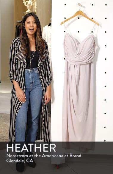Entwine Cold Shoulder Maxi Dress, sales video thumbnail
