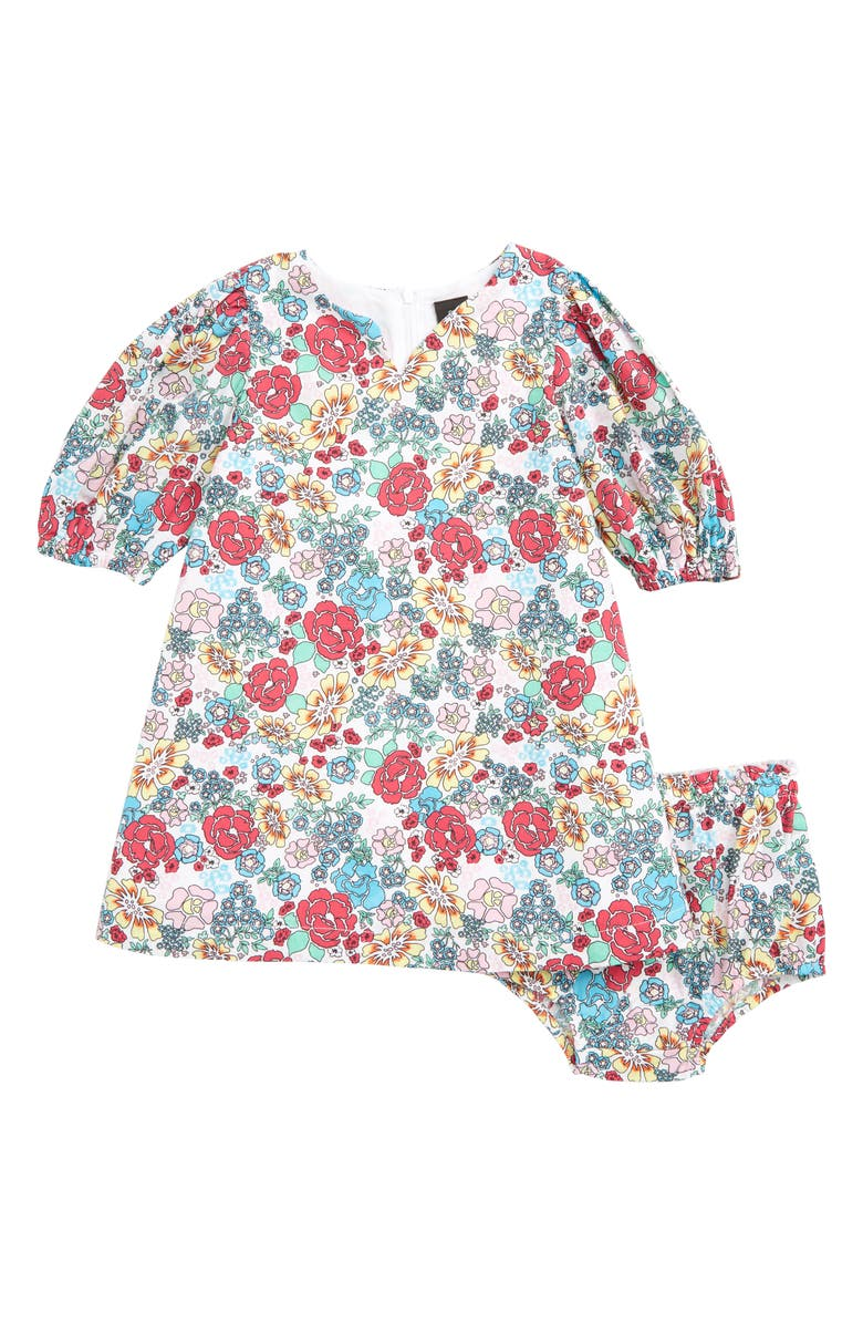 874b04426b1 Something Navy Floral Shift Dress (Baby) (Nordstrom Exclusive ...
