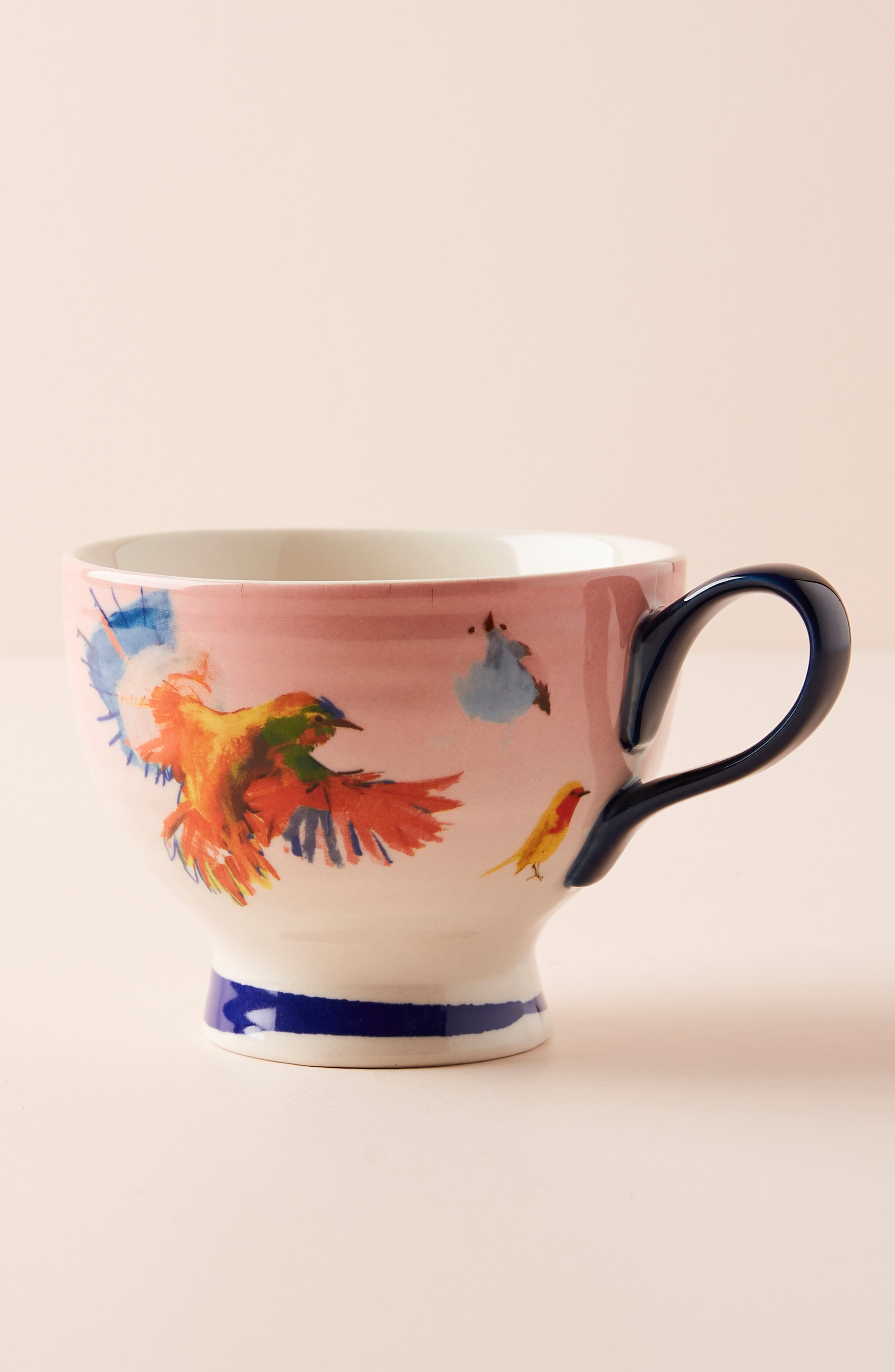 ANTHROPOLOGIE, Raven Roxanne Cup, Alternate thumbnail 2, color, NAVY