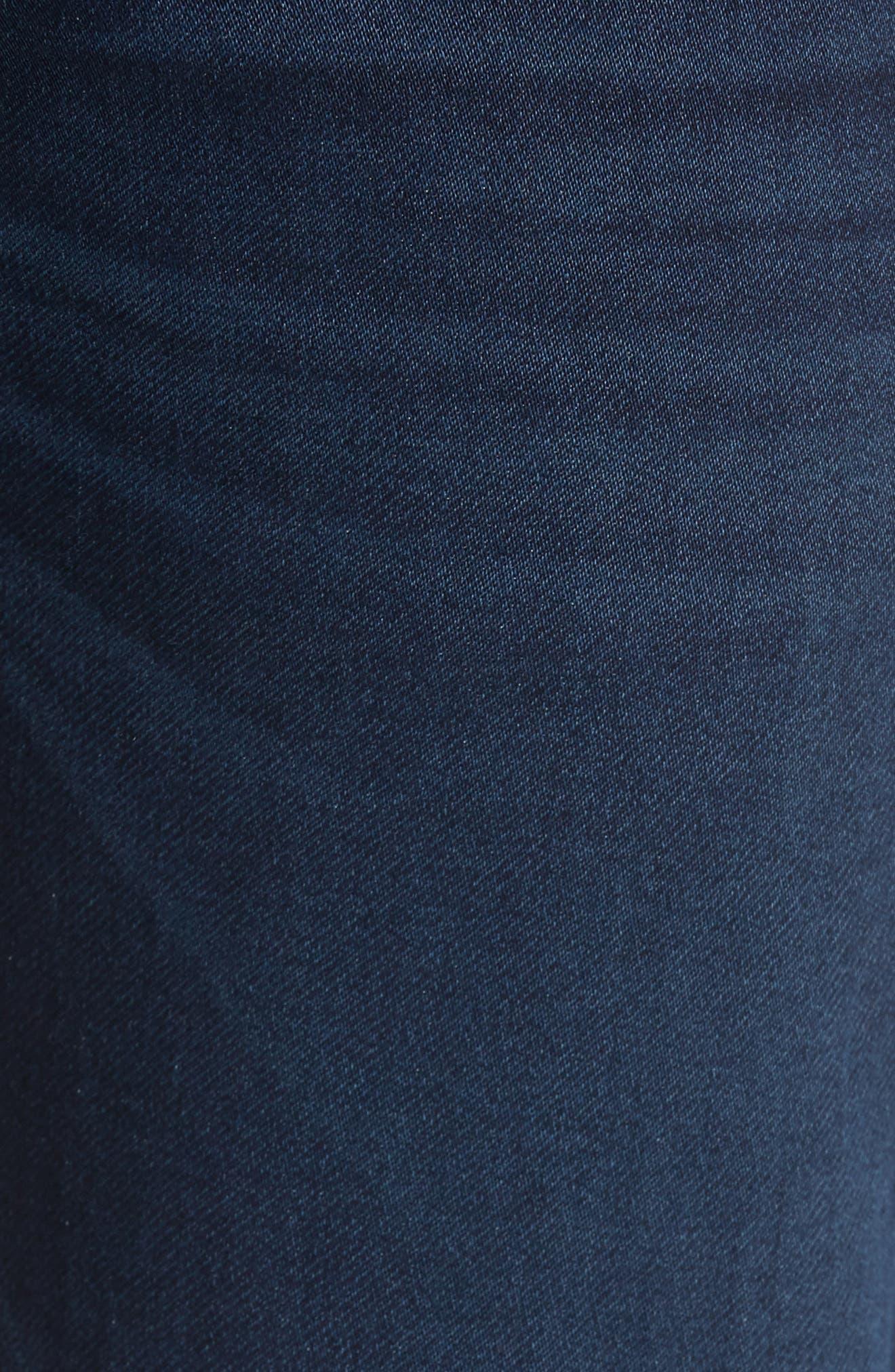 FIDELITY DENIM, Jimmy Slim Straight Leg Jeans, Alternate thumbnail 5, color, 400