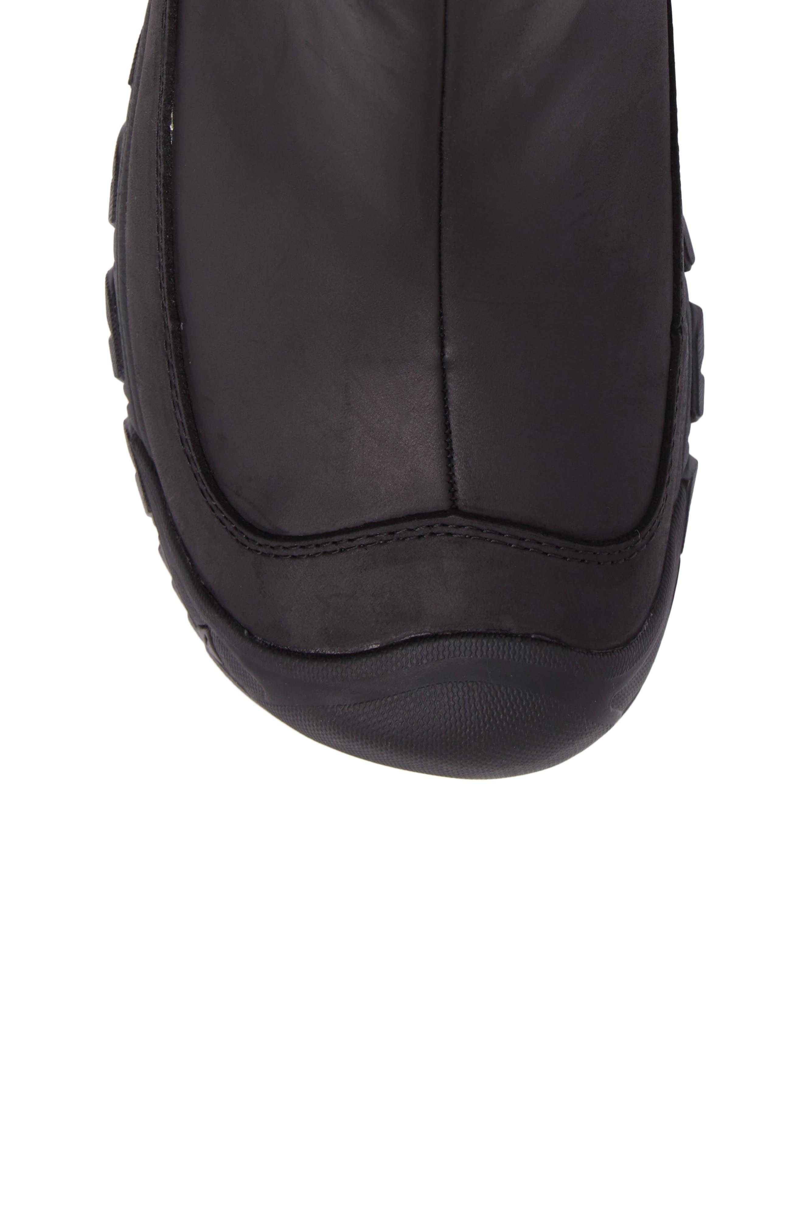 KEEN, Anchorage II Waterproof Chelsea Boot, Alternate thumbnail 5, color, 001