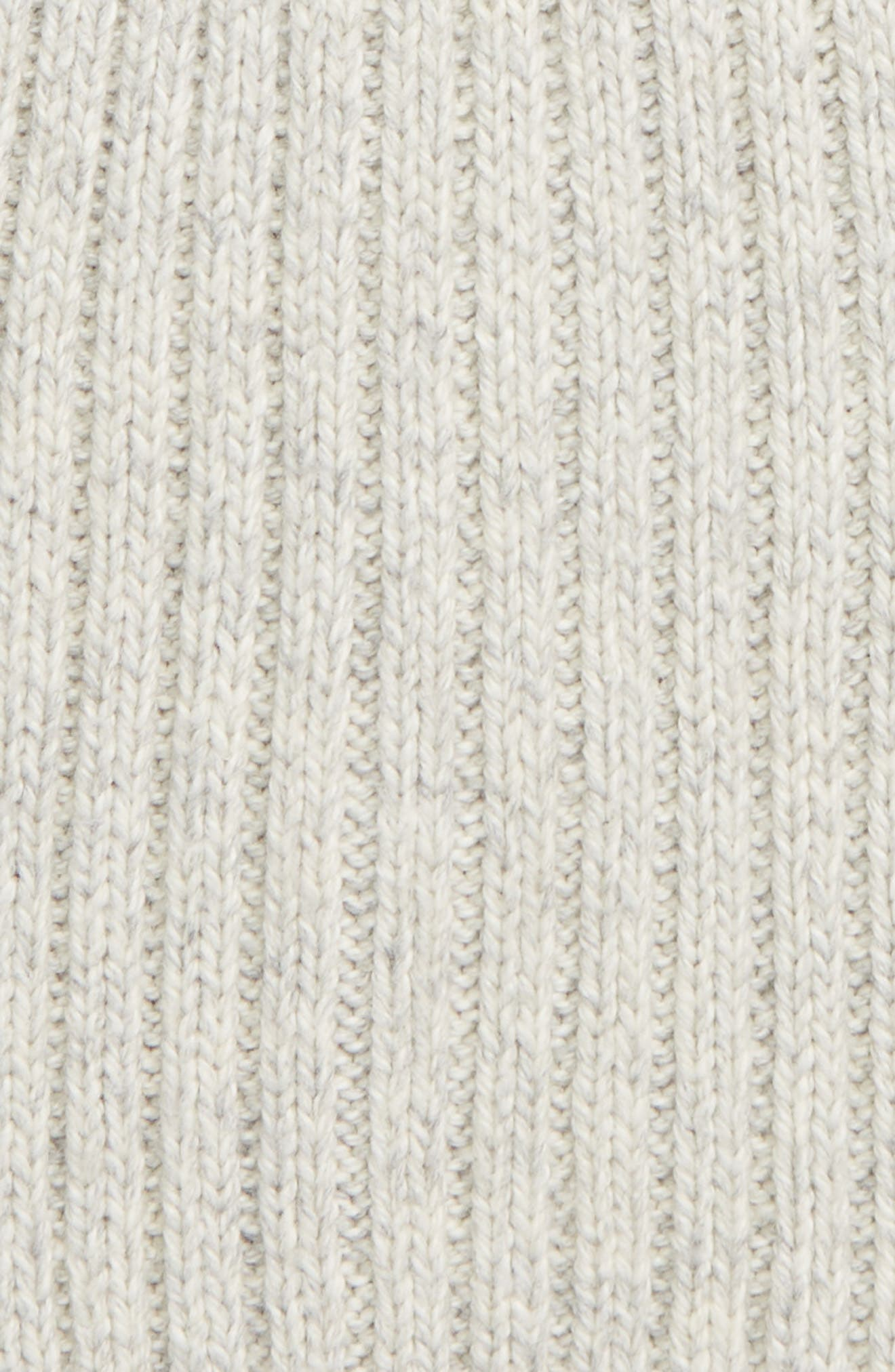 MADEWELL, Perfect Textured Rib Beanie, Alternate thumbnail 2, color, 020
