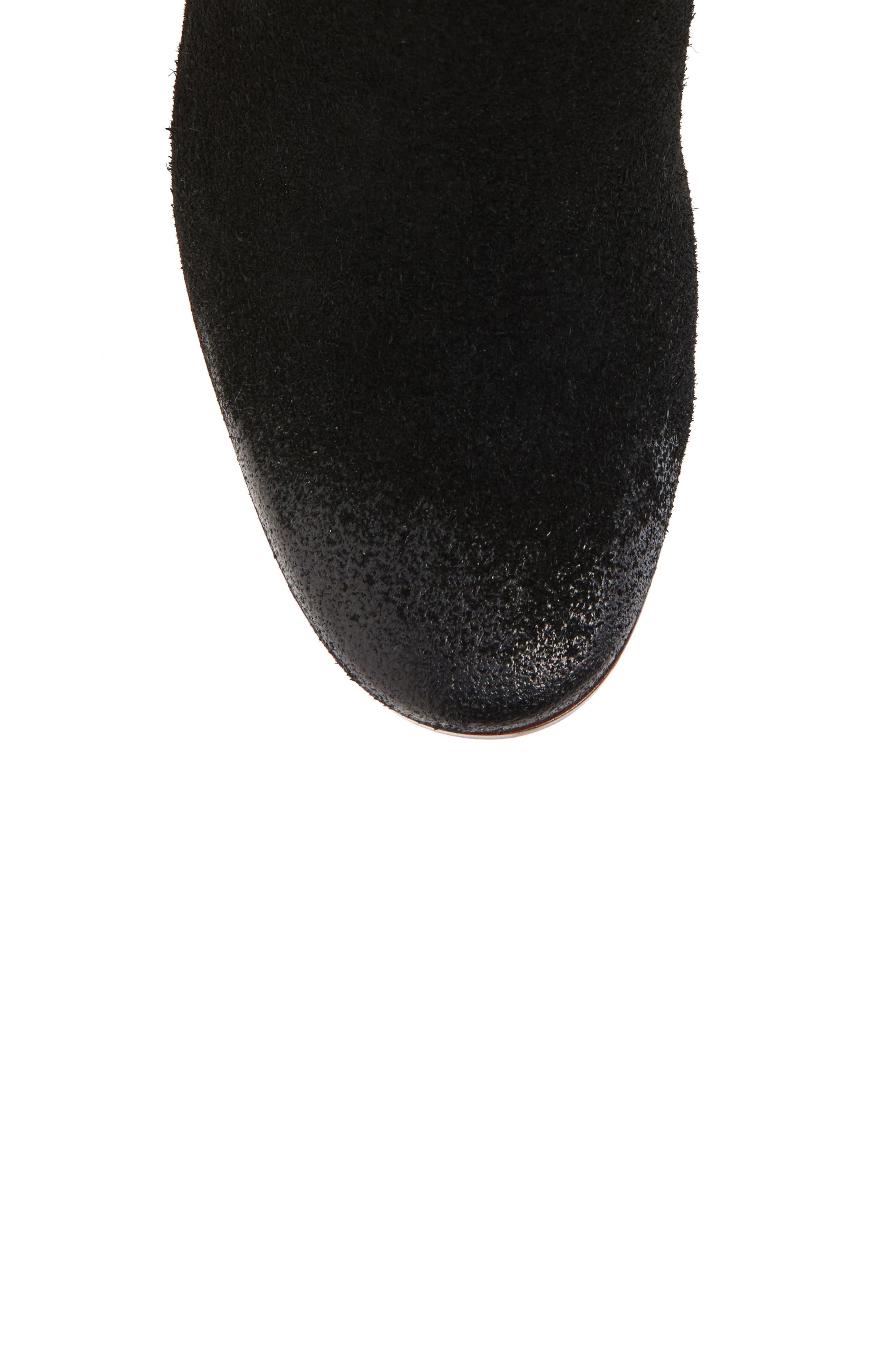 SAM EDELMAN, Camellia Tall Boot, Alternate thumbnail 5, color, 002