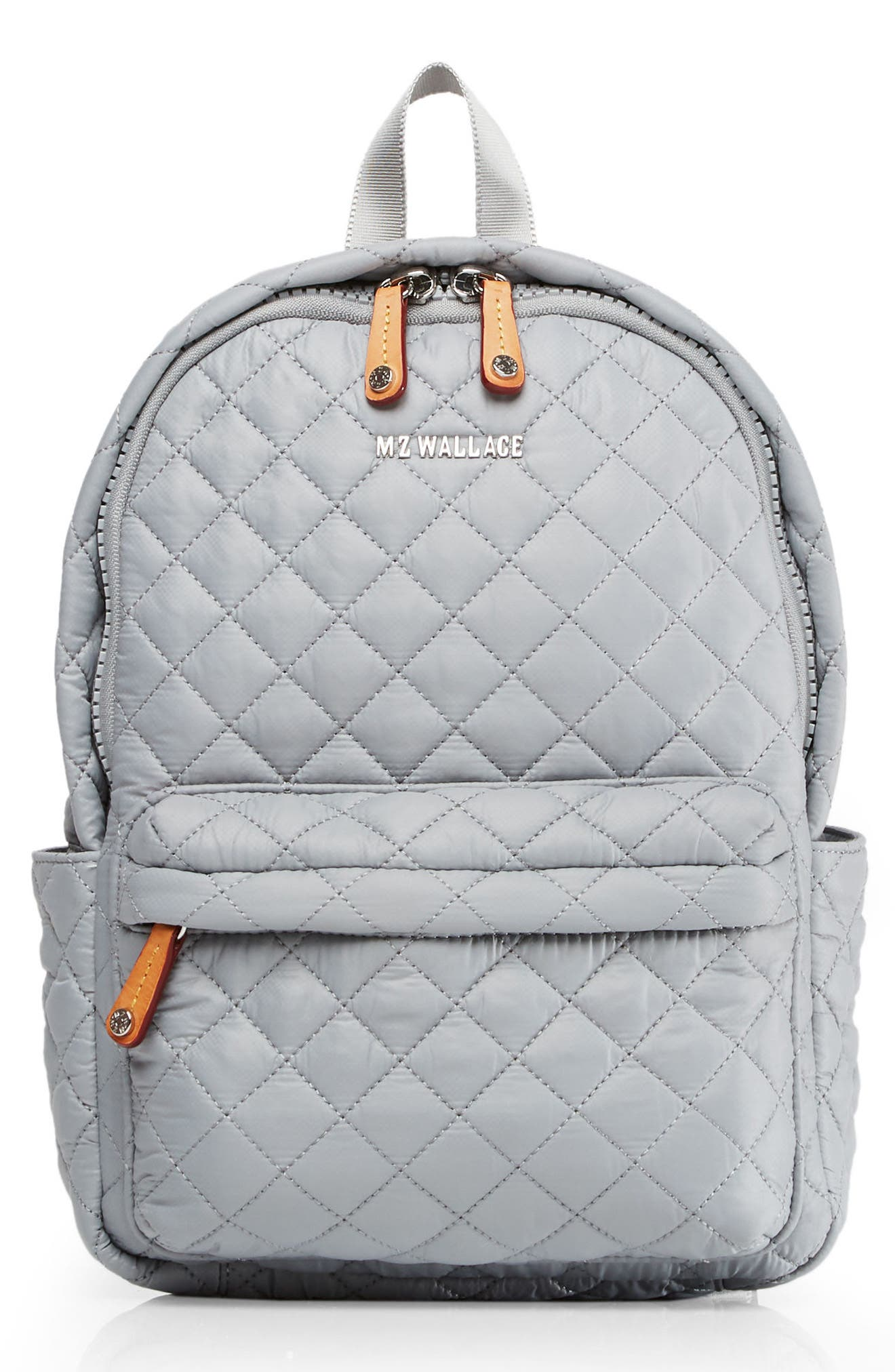 MZ WALLACE Small Metro Backpack, Main, color, DOVE GREY