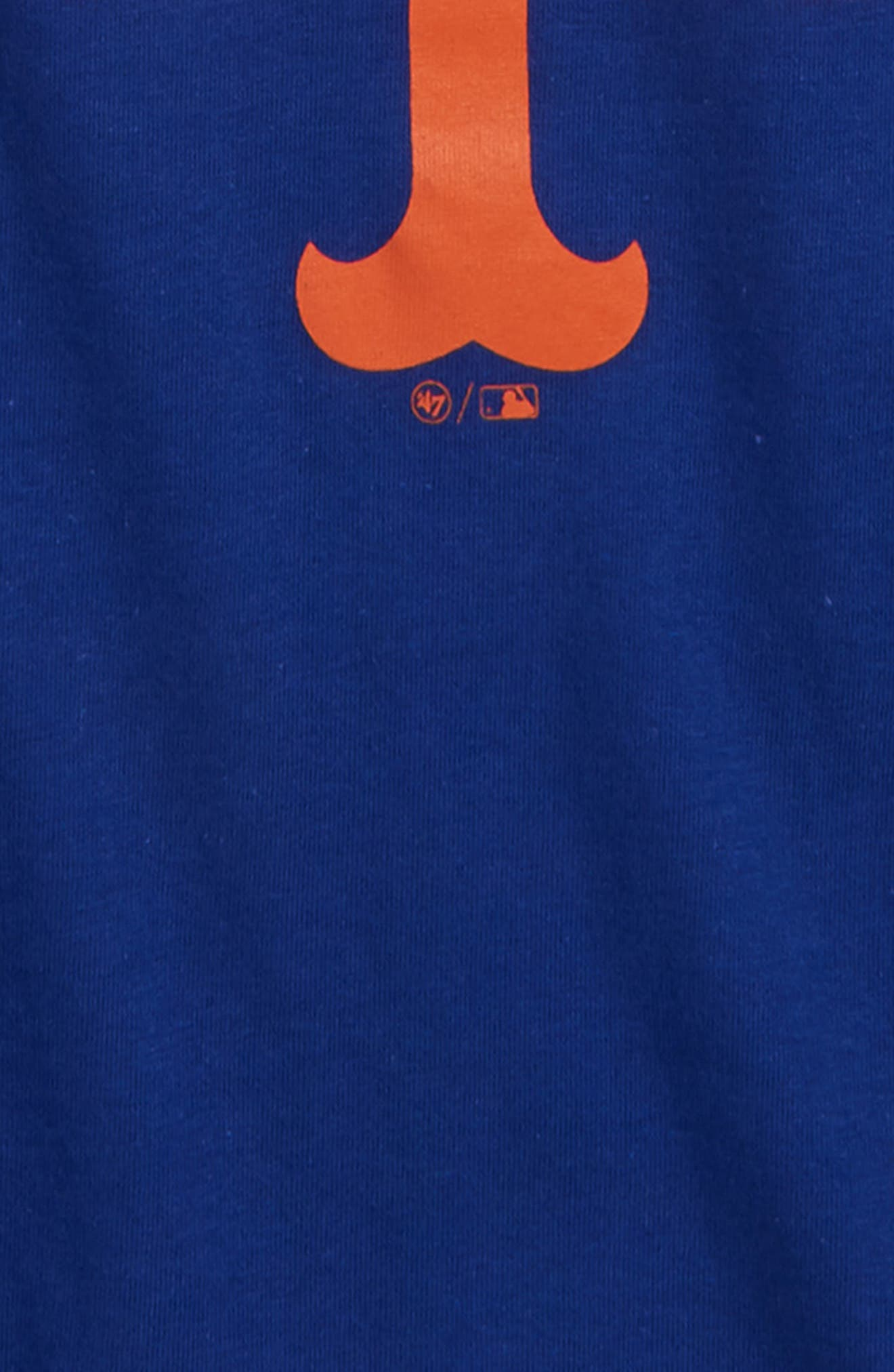 '47, Super Rival New York Mets T-Shirt, Alternate thumbnail 2, color, ROYAL