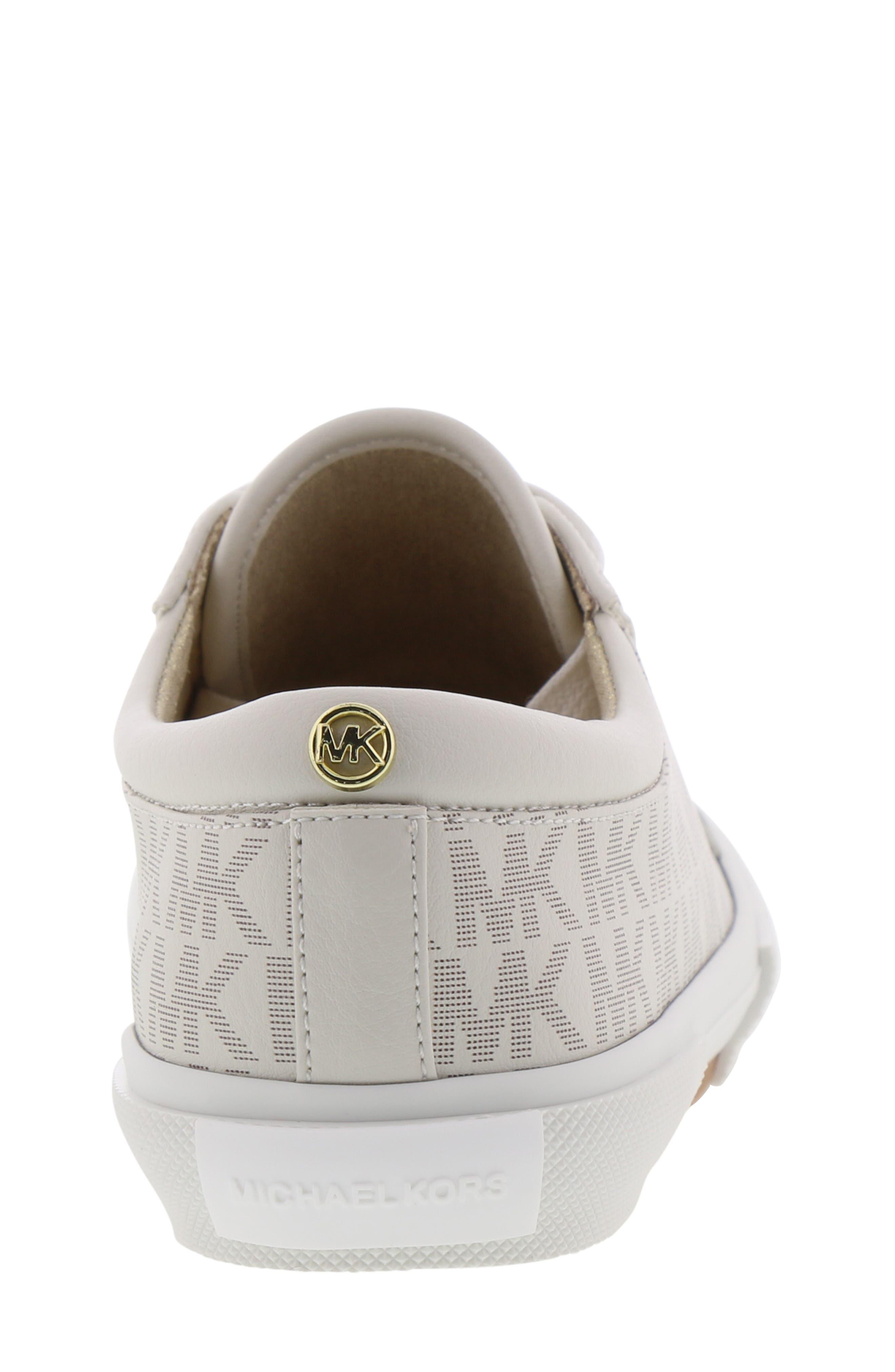 MICHAEL MICHAEL KORS, Ima Rebel Sneaker, Alternate thumbnail 7, color, VANILLA