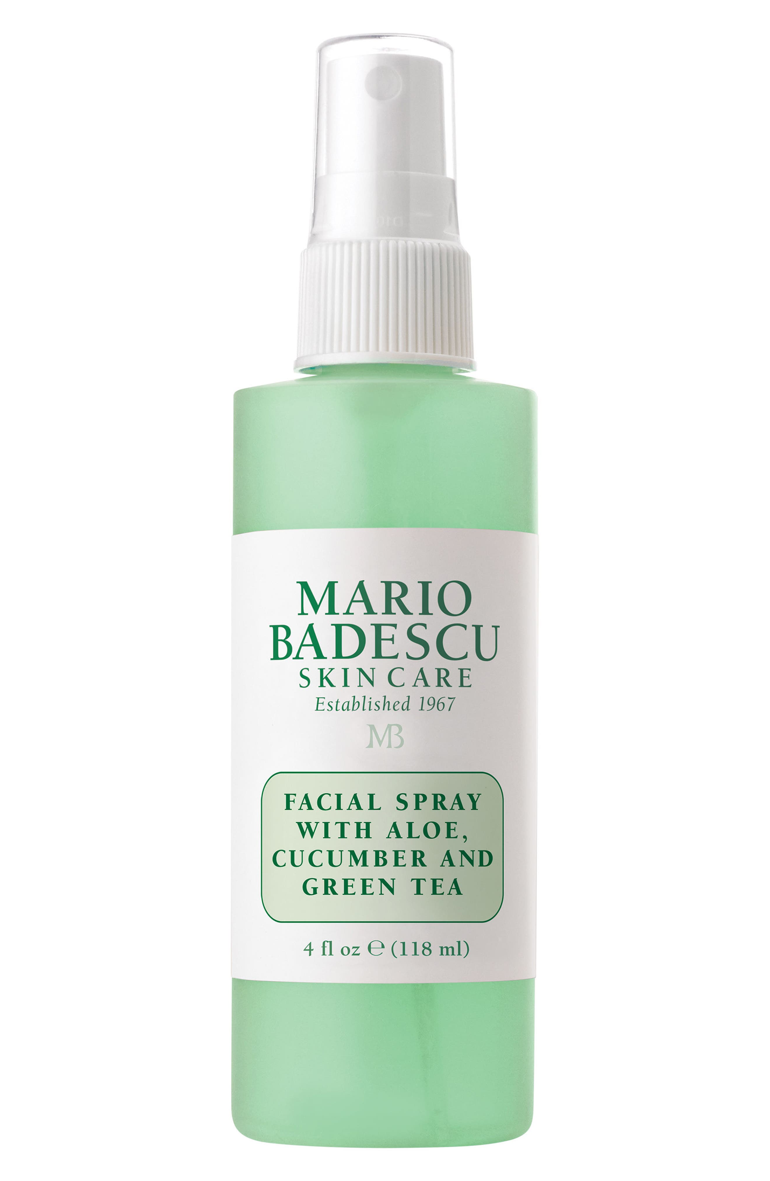 MARIO BADESCU Facial Spray with Aloe, Cucumber & Green Tea, Main, color, NO COLOR