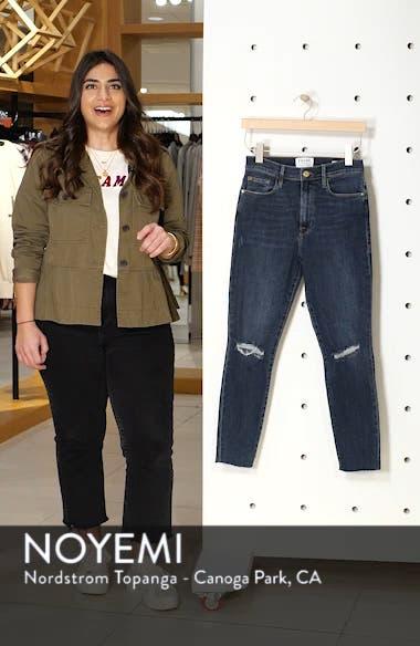 Ali Ripped High Waist Crop Cigarette Jeans, sales video thumbnail