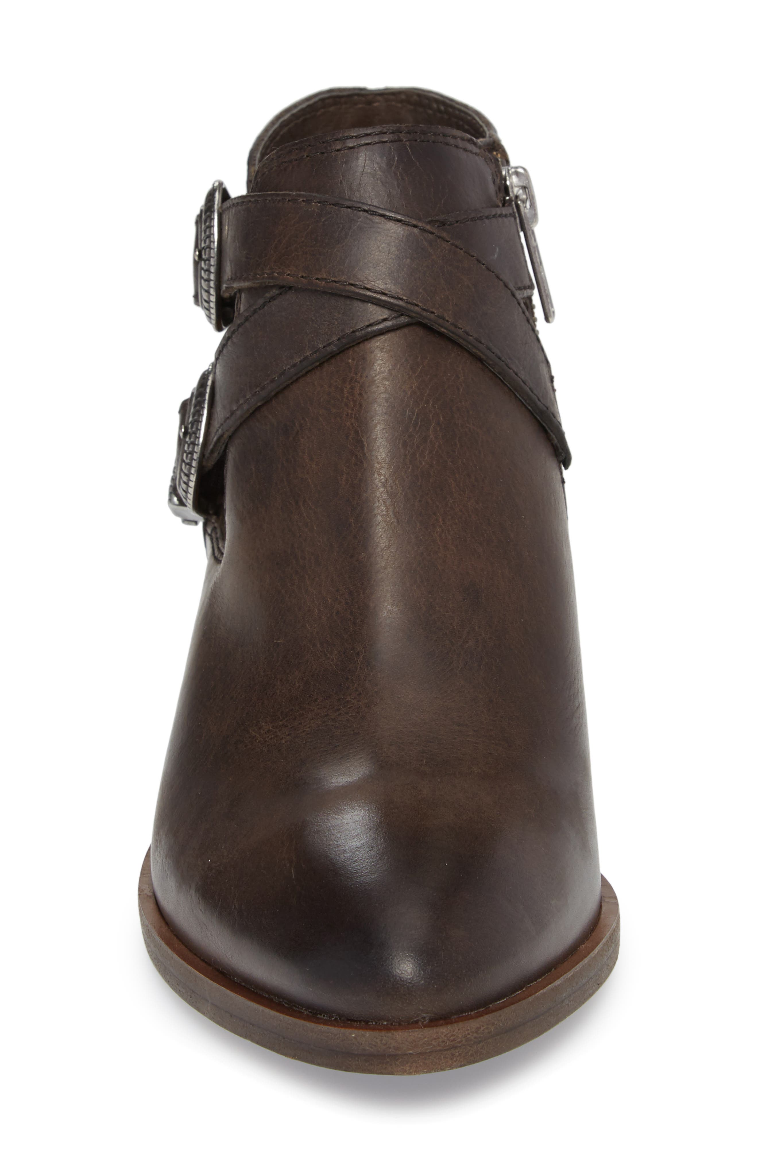 FRYE, Ray Western Bootie, Alternate thumbnail 4, color, SLATE LEATHER