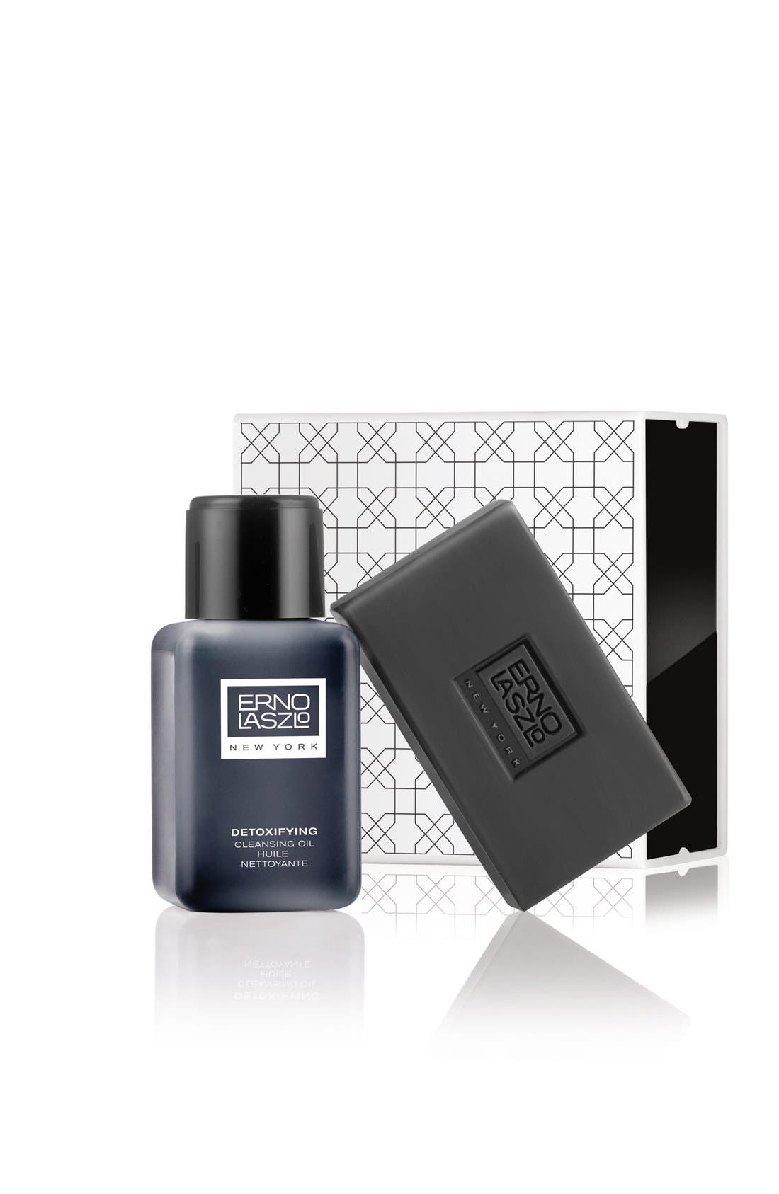 ERNO LASZLO, Detoxifying Double Cleanse Travel Set, Alternate thumbnail 2, color, NO COLOR