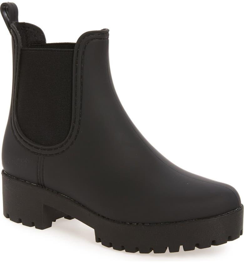 47b07434e Jeffrey Campbell Cloudy Waterproof Chelsea Rain Boot (Women)