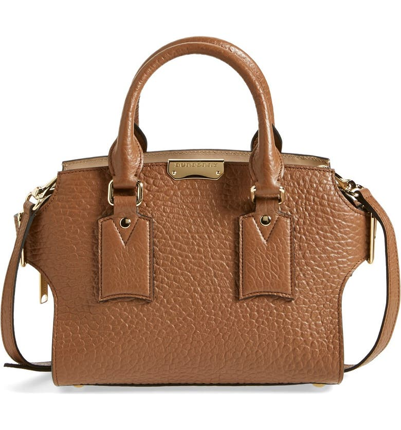 f77805357af8 Burberry  Small Clifton  Signature Grain Leather Satchel