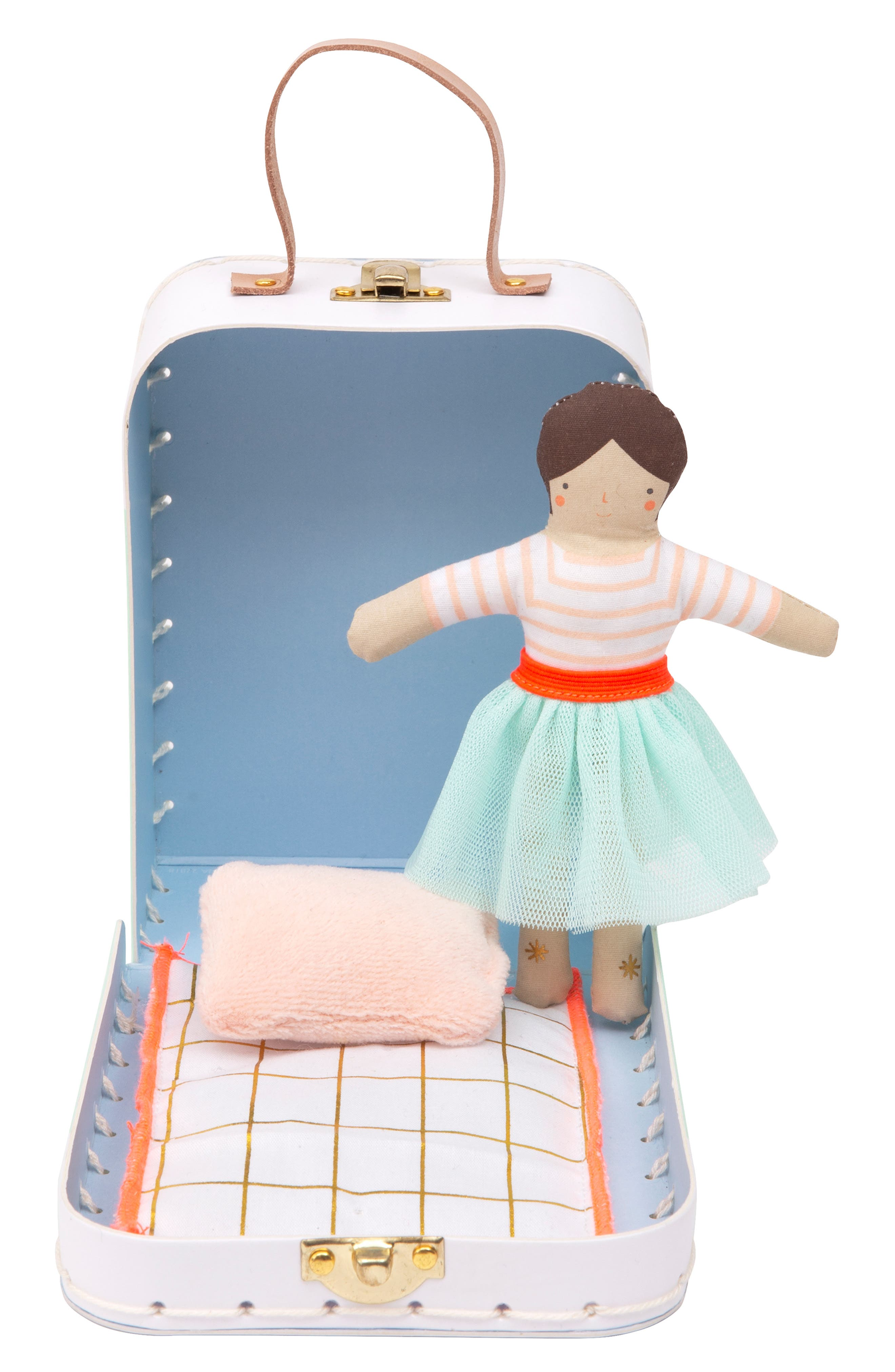 MERI MERI Mini Lila Doll & Suitcase Set, Main, color, 960