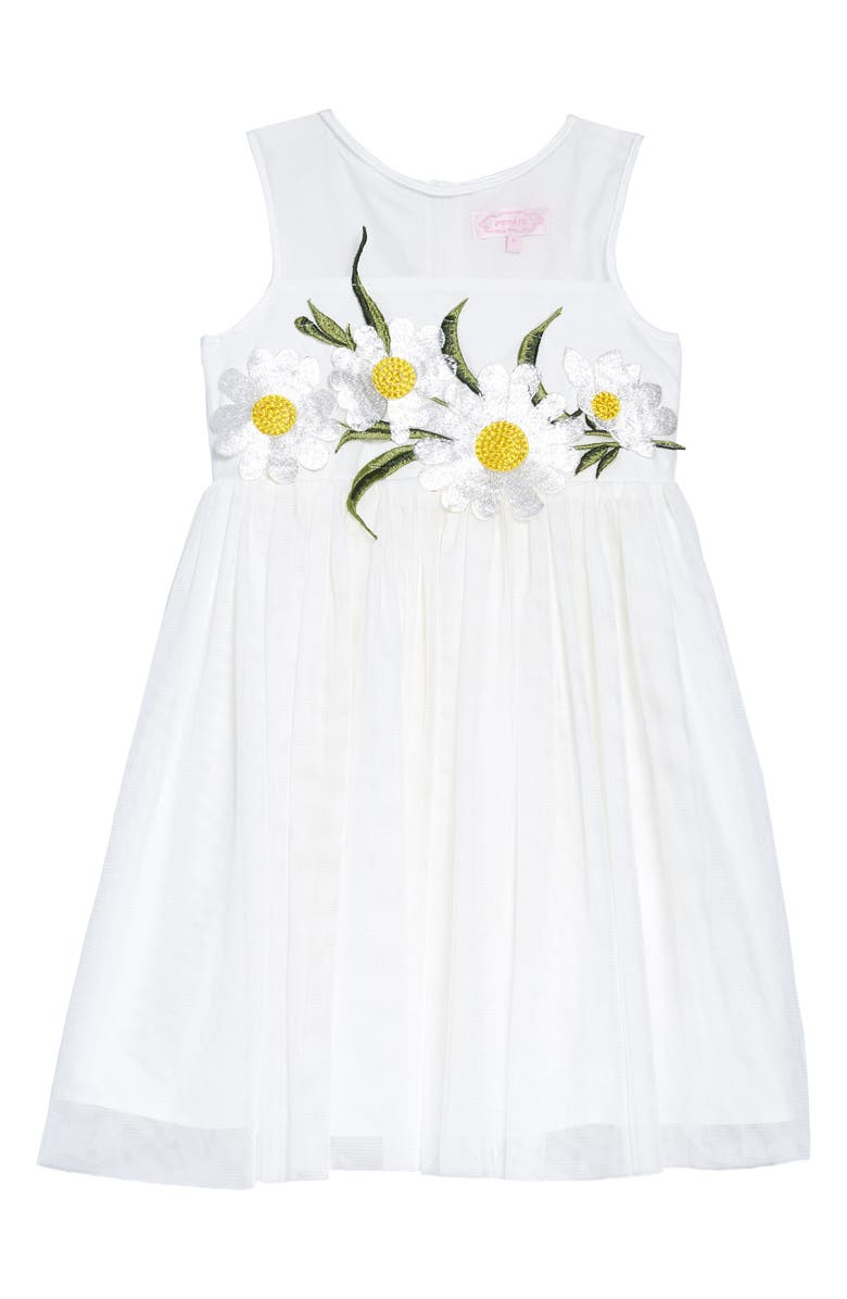 Popatu Daisy Tulle Dress (Toddler Girls, Little Girls