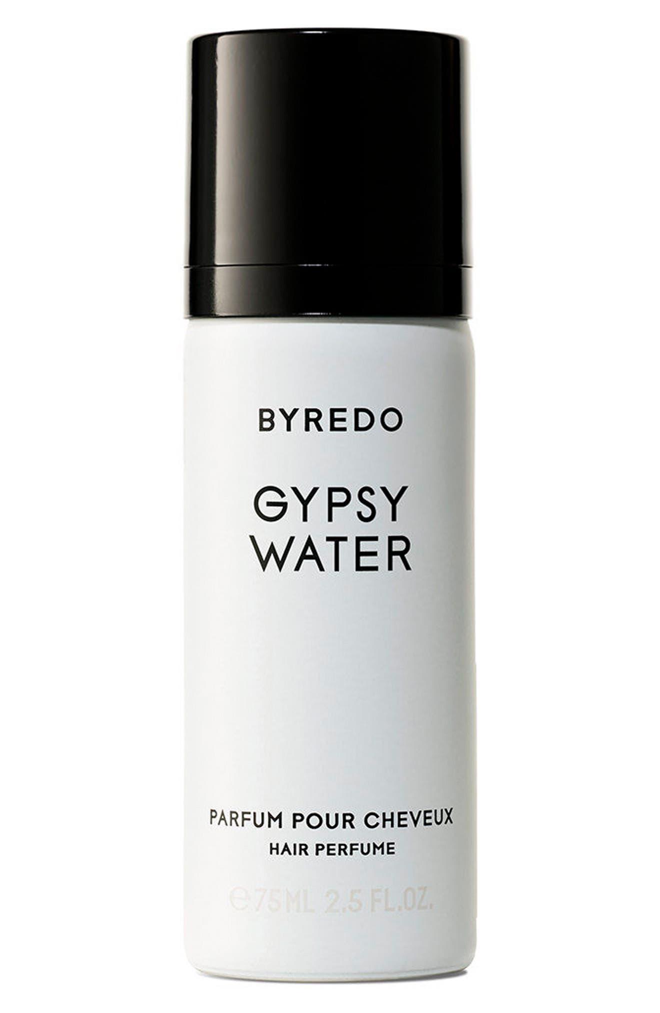 BYREDO, Gypsy Water Hair Perfume, Main thumbnail 1, color, NO COLOR