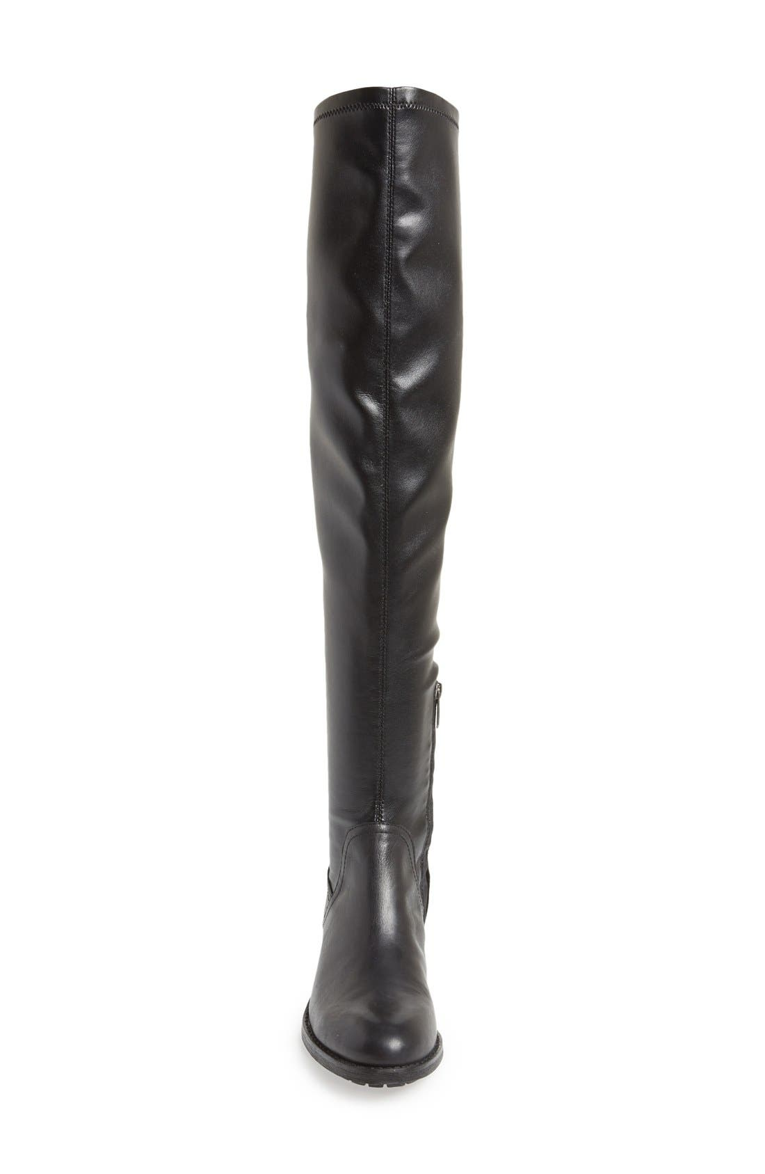 SAM EDELMAN, 'Remi' Over The Knee Boot, Alternate thumbnail 2, color, 001