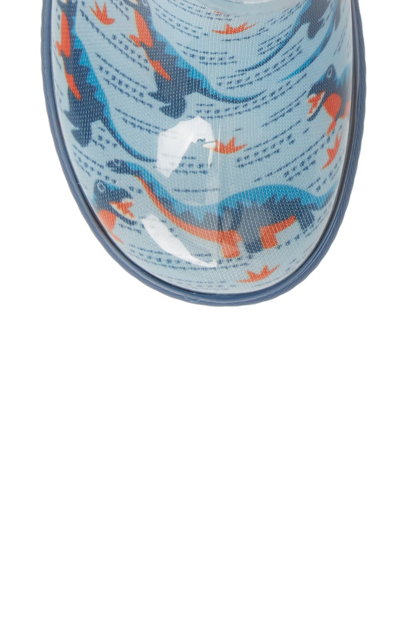 UGG<SUP>®</SUP>, Rahjee Waterproof Rain Boot, Alternate thumbnail 5, color, BALLAD BLUE