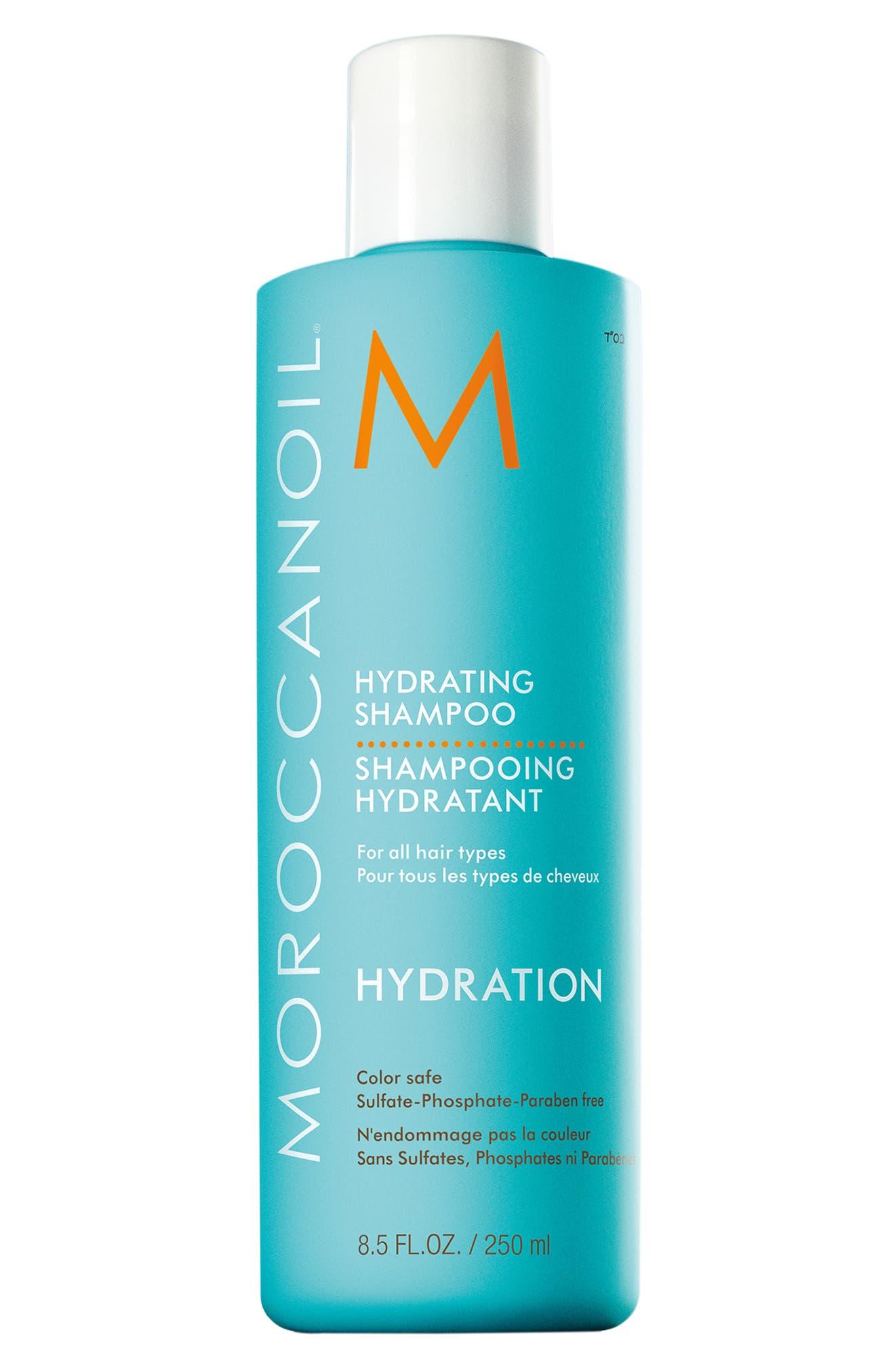 MOROCCANOIL<SUP>®</SUP>, Hydrating Shampoo, Main thumbnail 1, color, NO COLOR