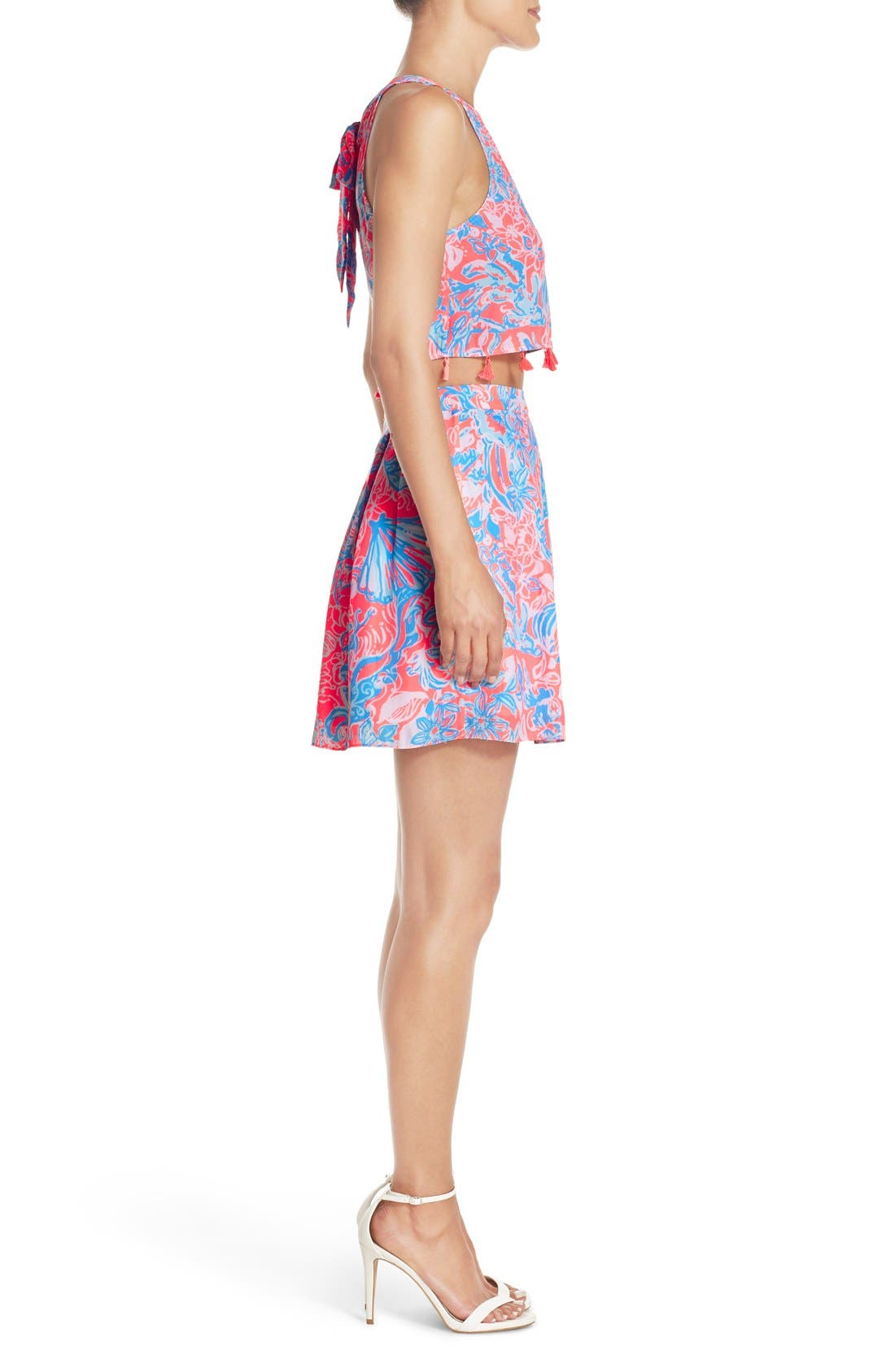 LILLY PULITZER<SUP>®</SUP>, 'Selina' Two-Piece Dress, Alternate thumbnail 6, color, 677
