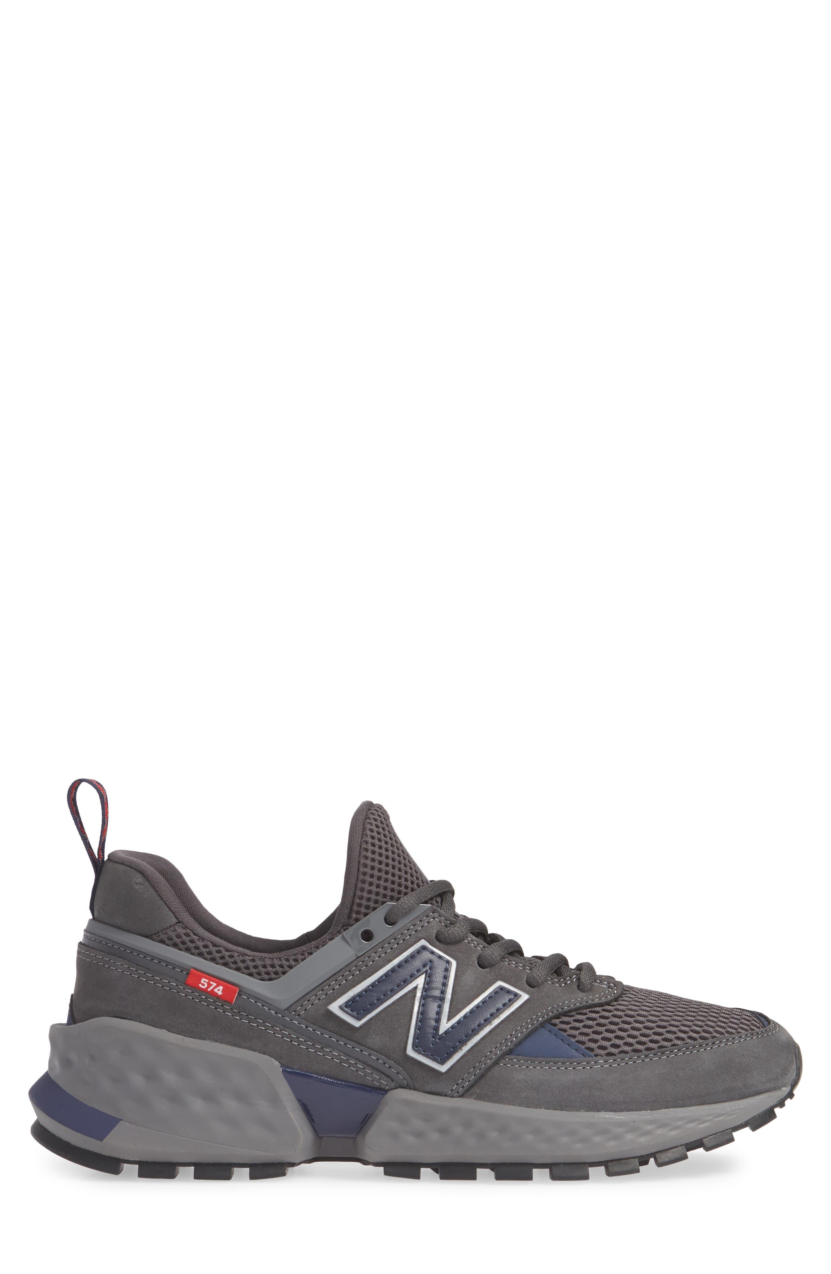 NEW BALANCE, 574 Sport Sneaker, Alternate thumbnail 3, color, MAGNET
