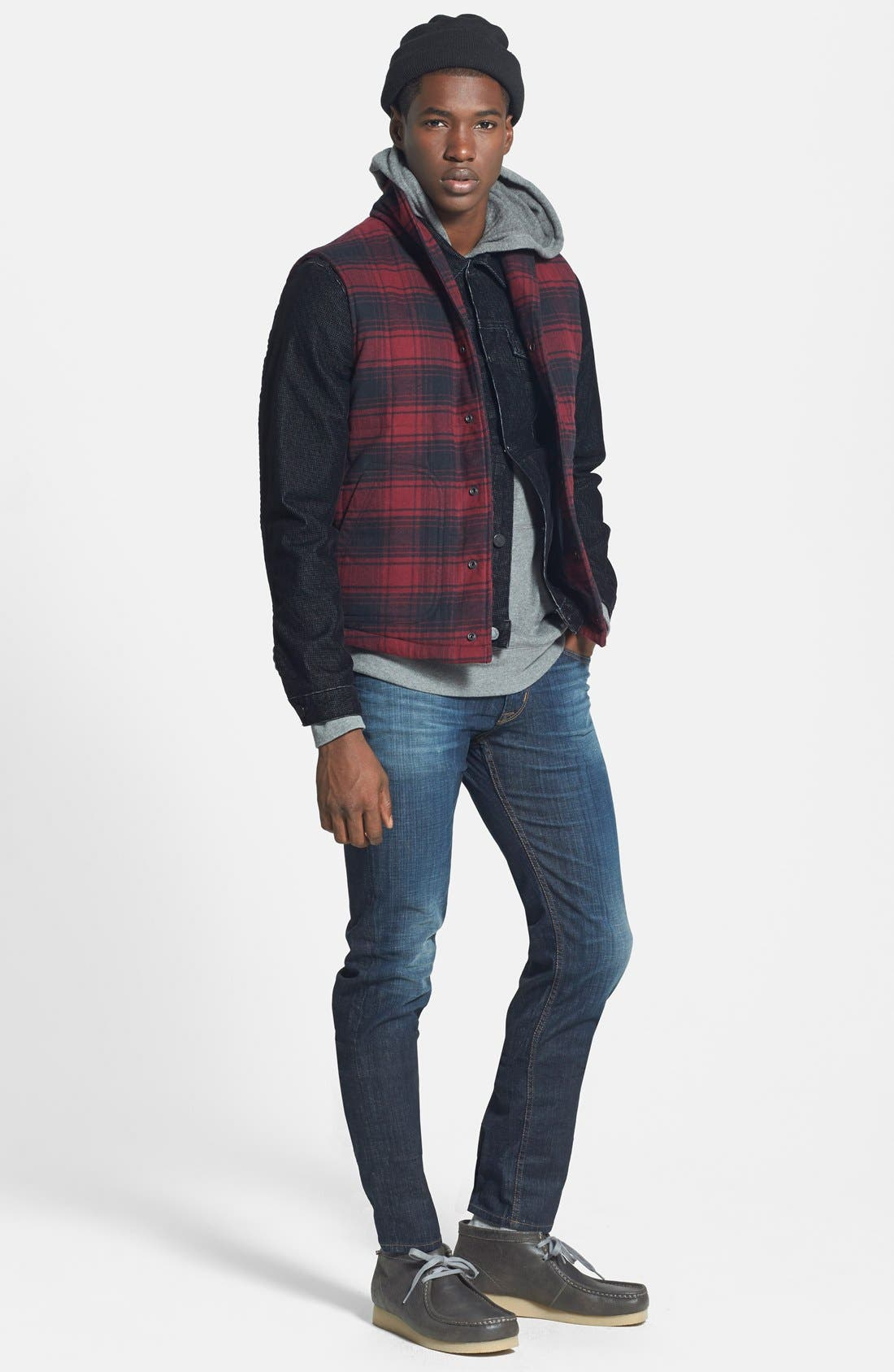 HUDSON JEANS, 'Blake' Slim Fit Jeans, Alternate thumbnail 3, color, 409