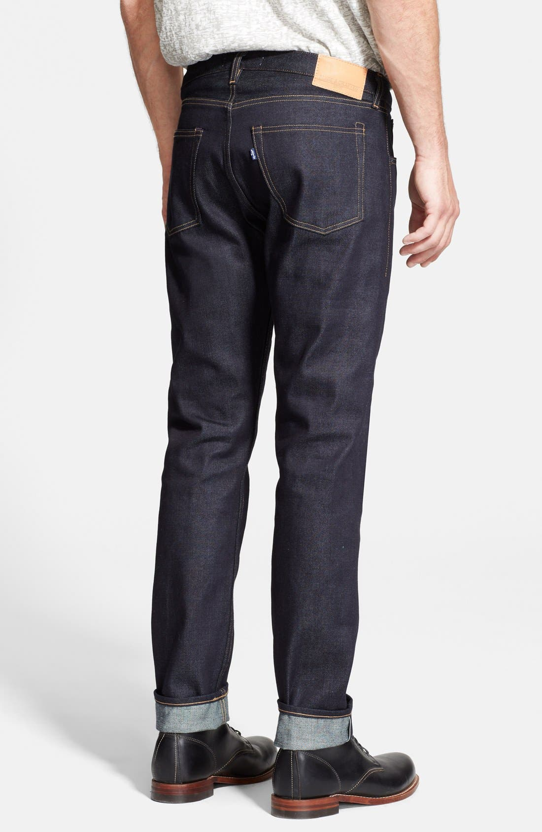 LEVI'S<SUP>®</SUP> MADE & CRAFTED<SUP>™</SUP>, 'Tack' Slim Fit Jeans, Alternate thumbnail 3, color, 400