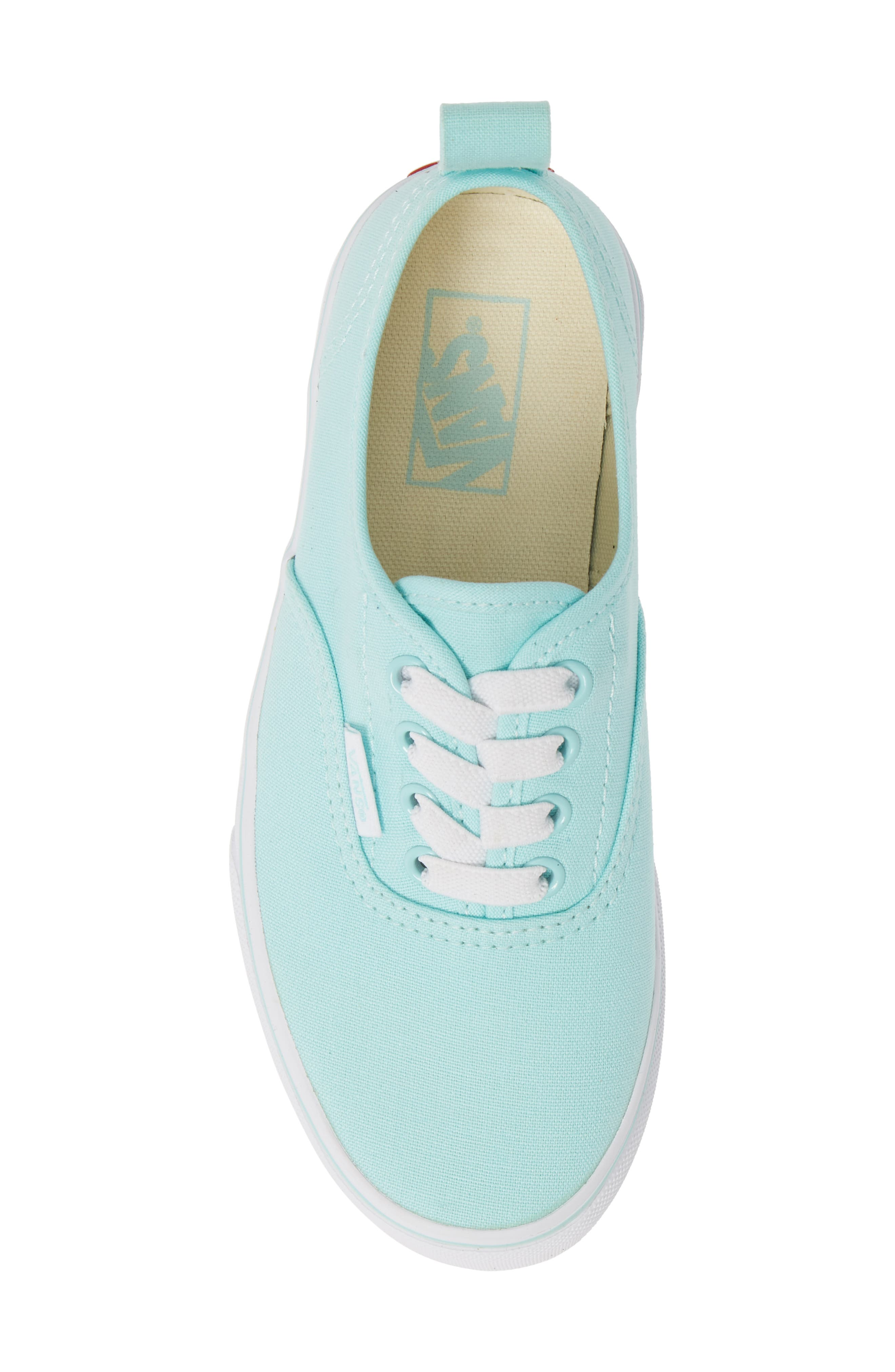 VANS, Authentic Sneaker, Alternate thumbnail 5, color, BLUE TINT/ TRUE WHITE