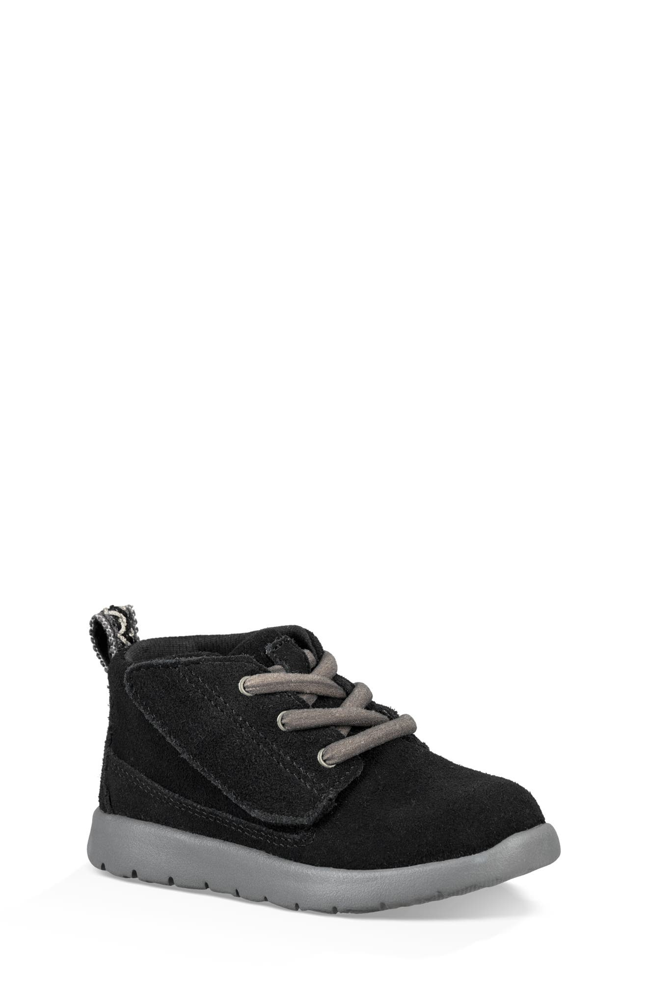 UGG<SUP>®</SUP>, Canoe Washable Chukka Sneaker, Main thumbnail 1, color, BLACK