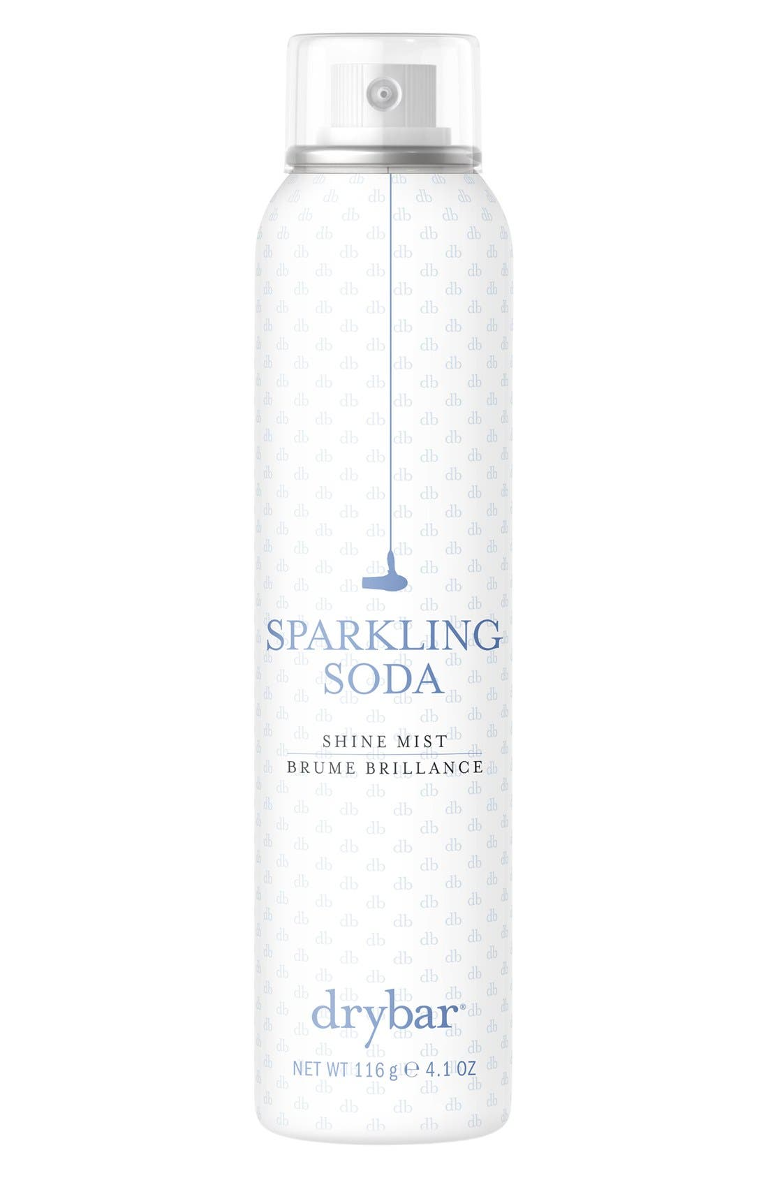 DRYBAR, Sparkling Soda Shine Mist, Main thumbnail 1, color, NO COLOR