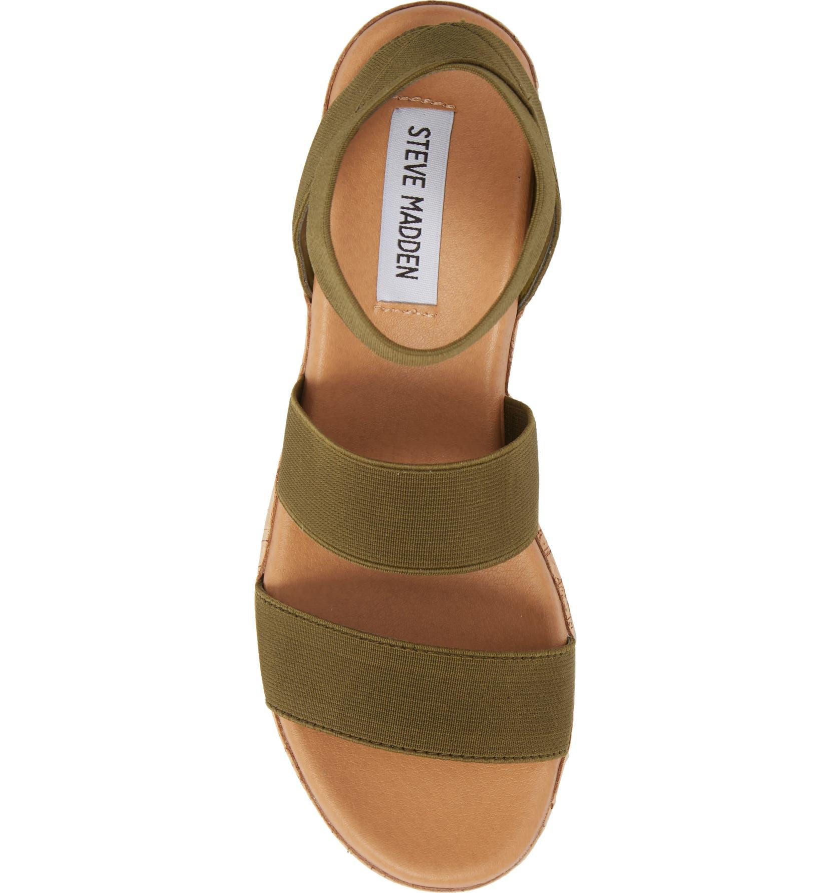 1f3795e5f6e Steve Madden Bandi Platform Wedge Sandal (Women)