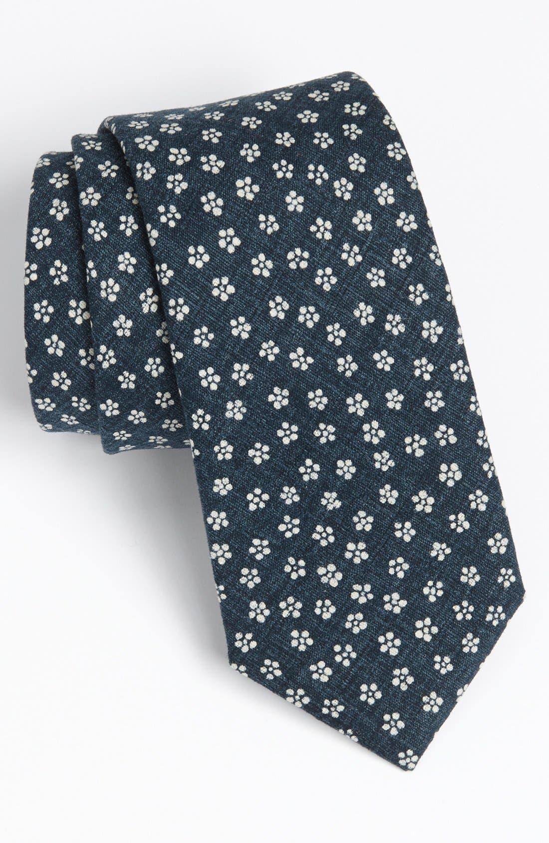 ROBERT STEWART, Woven Tie, Main thumbnail 1, color, 400