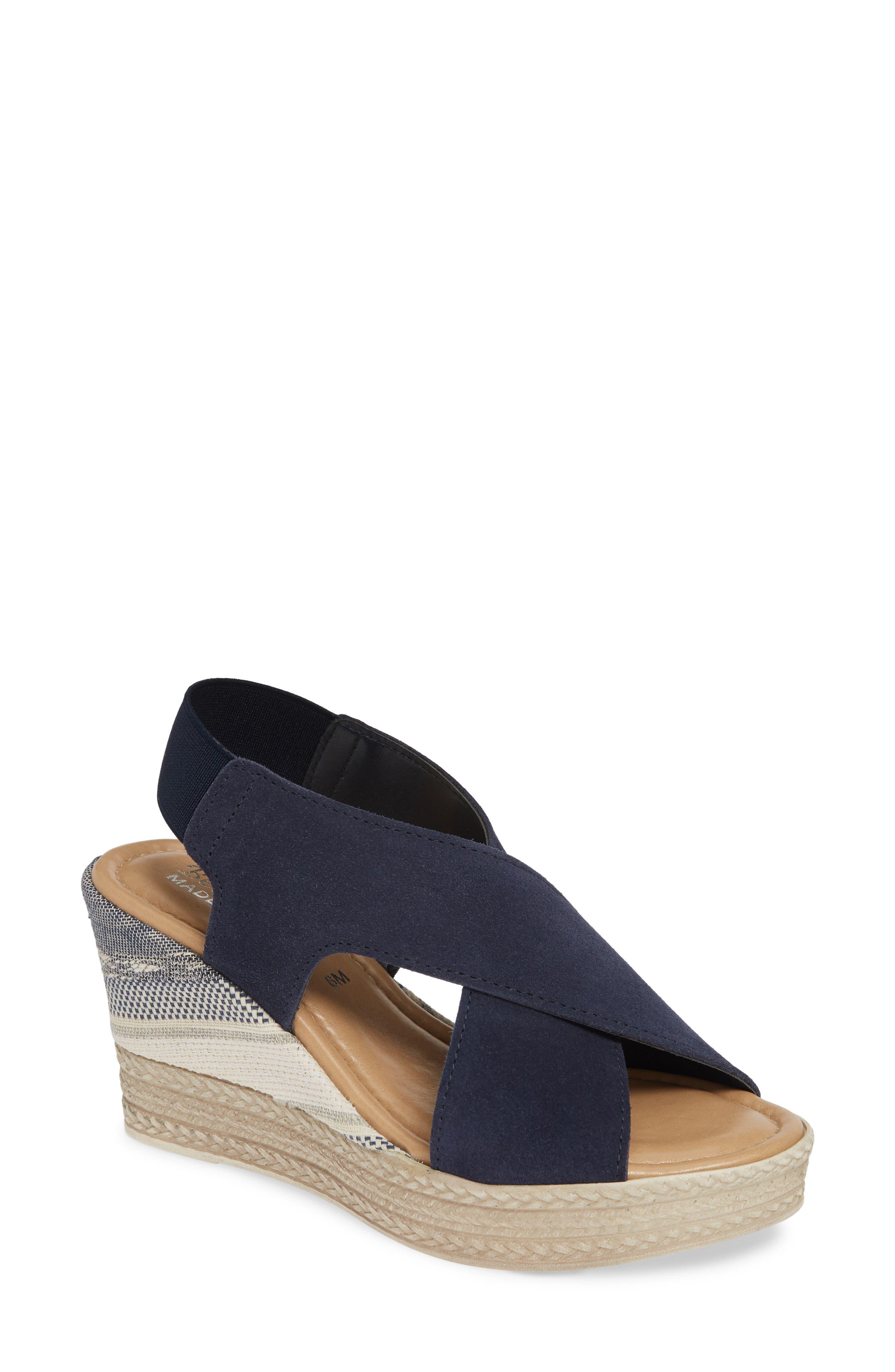 Bella Vita Slingback Sandal, Blue
