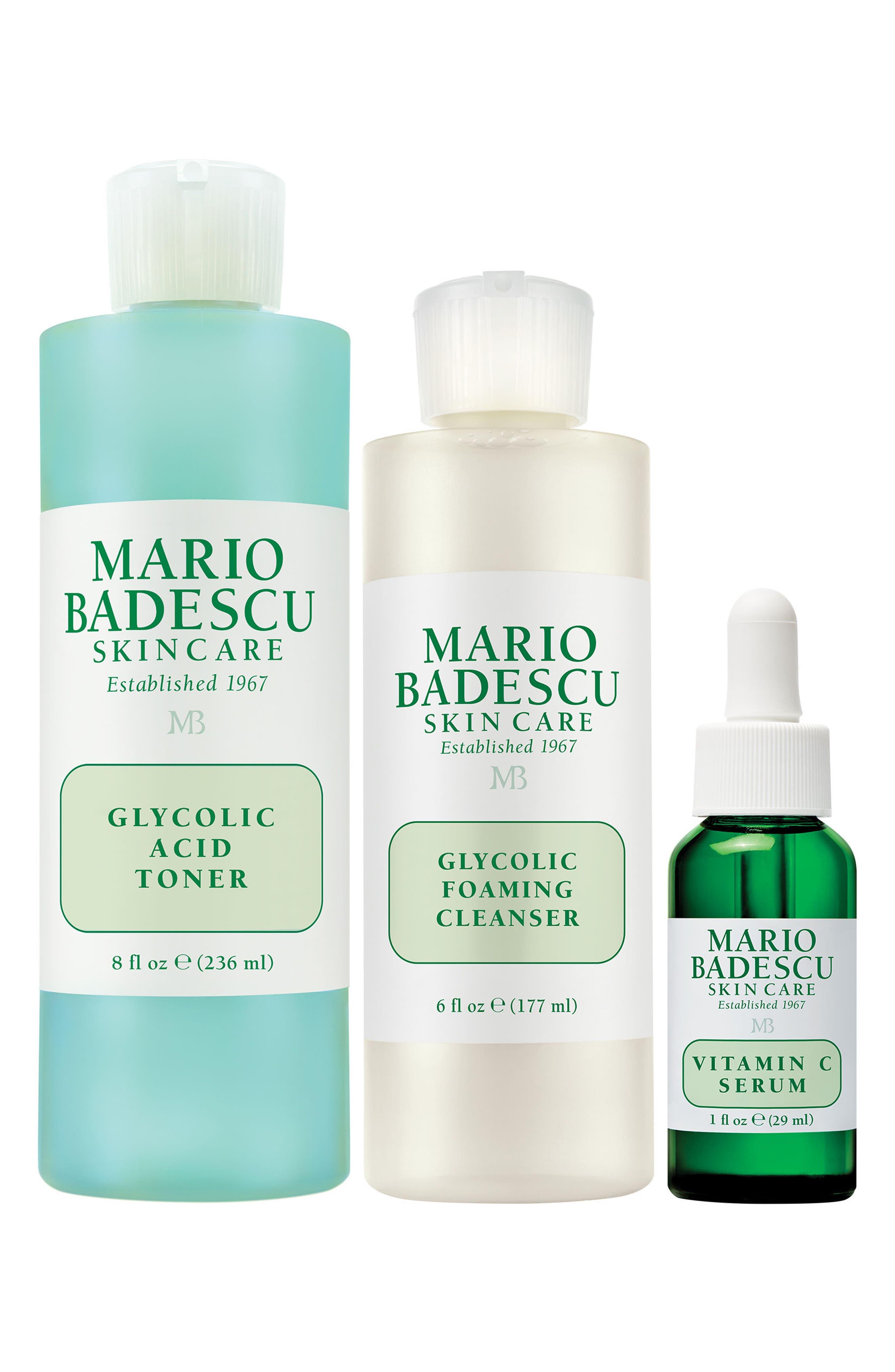 MARIO BADESCU, Brighten Skin Care Set, Main thumbnail 1, color, NO COLOR
