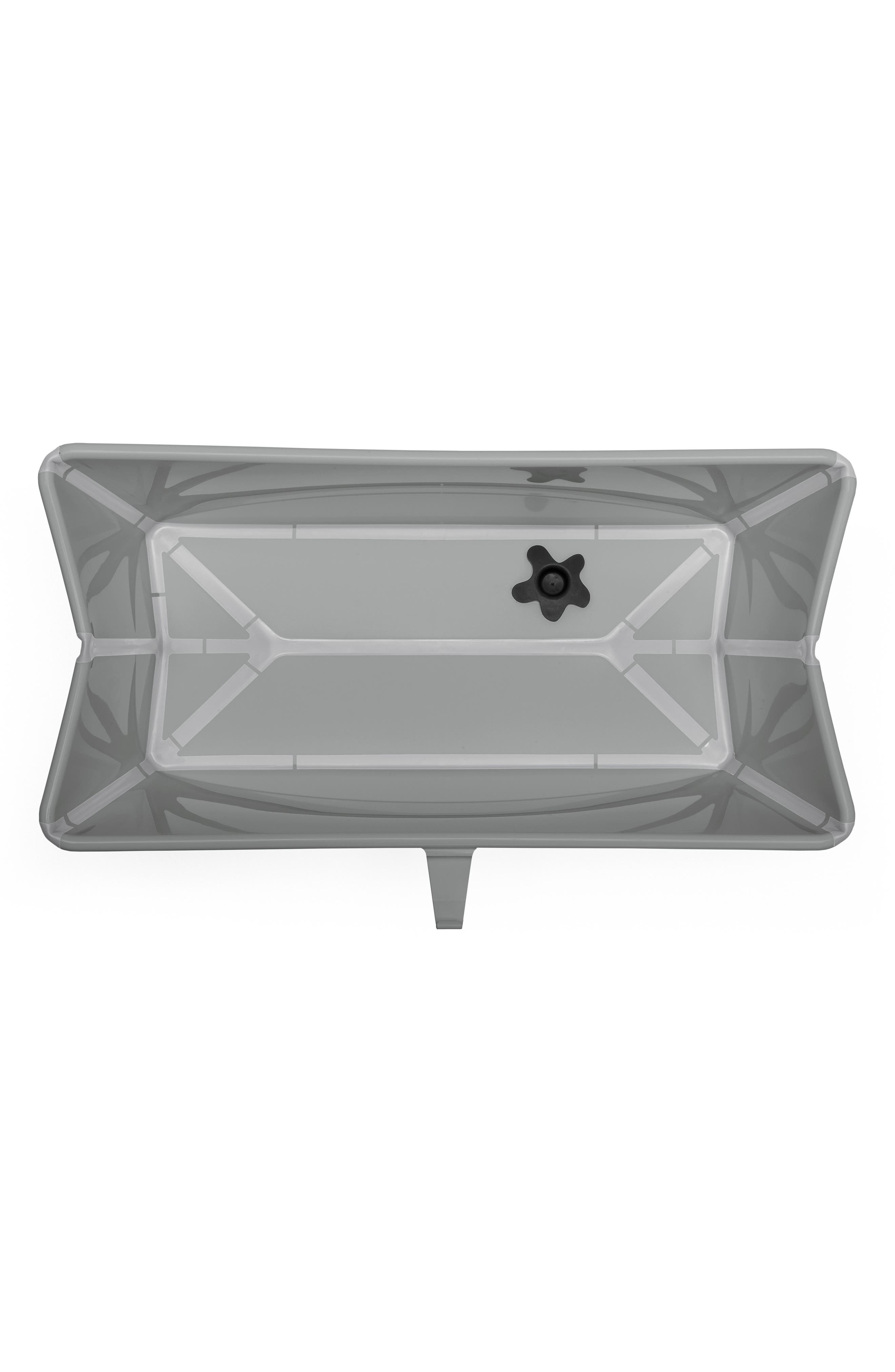 STOKKE, 'Flexi Bath<sup>®</sup>' Foldable Baby Bathtub, Alternate thumbnail 2, color, LIGHT GREY