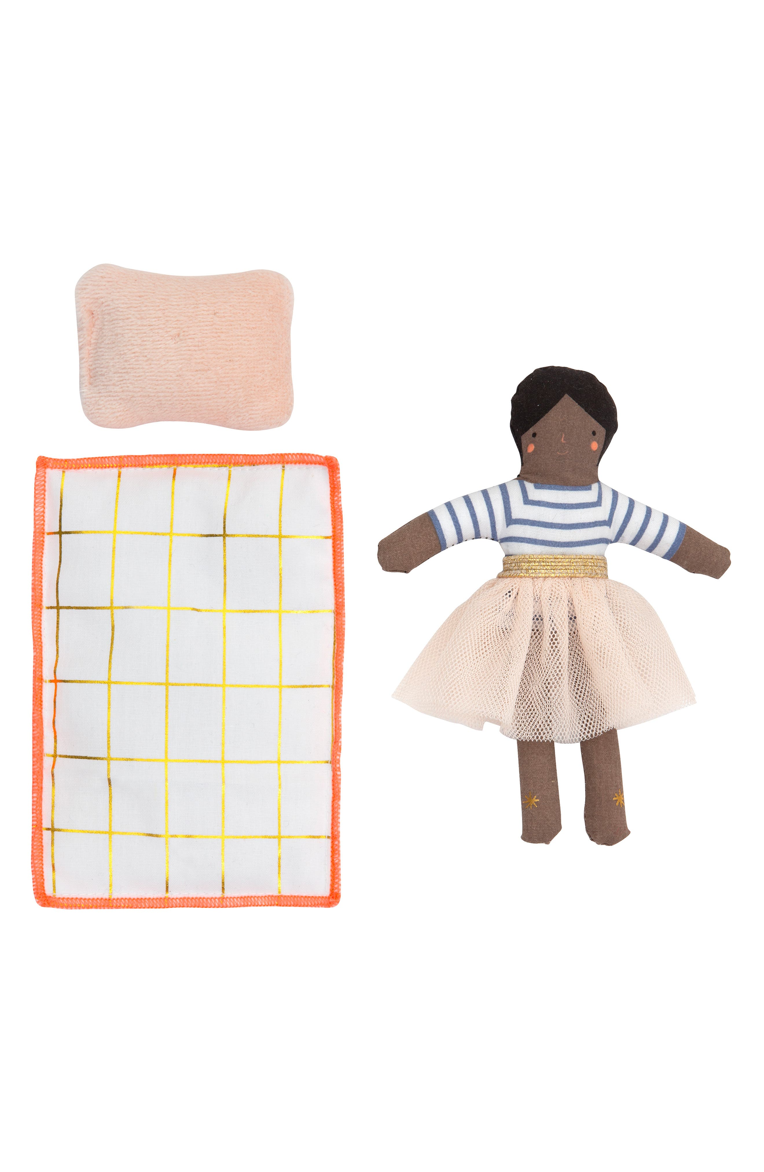 MERI MERI, Mini Ruby Doll & Suitcase Set, Alternate thumbnail 4, color, ASSORTED