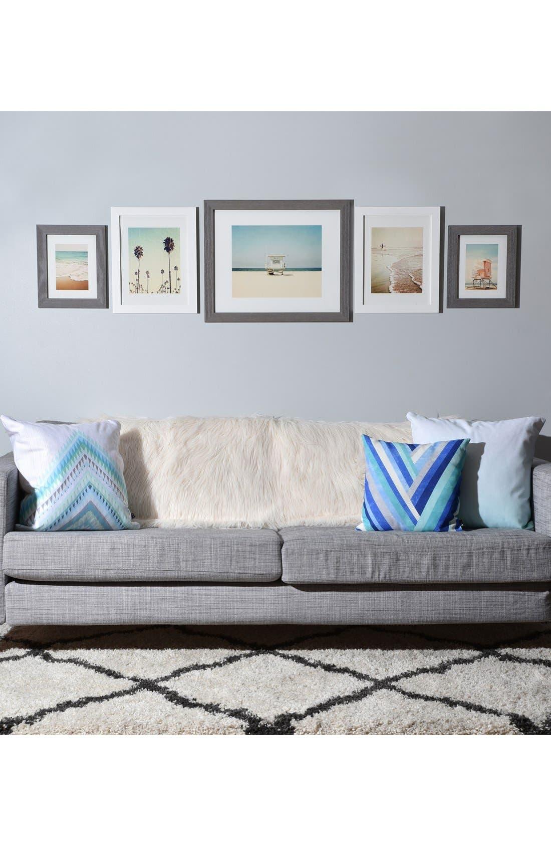 DENY DESIGNS, '5th Street' Wall Art Print Set, Alternate thumbnail 2, color, WHITE