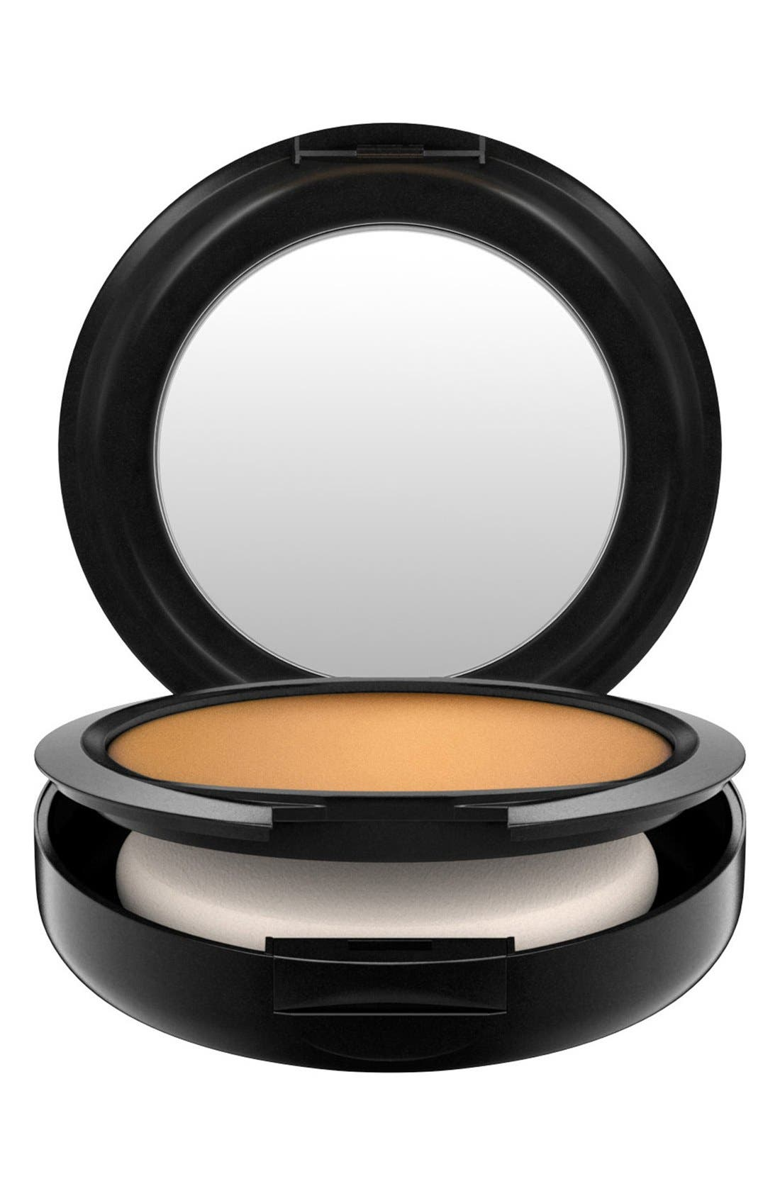 MAC COSMETICS, MAC Studio Fix Powder Plus Foundation, Alternate thumbnail 4, color, NC55 DEEPEST GOLDEN BRONZE