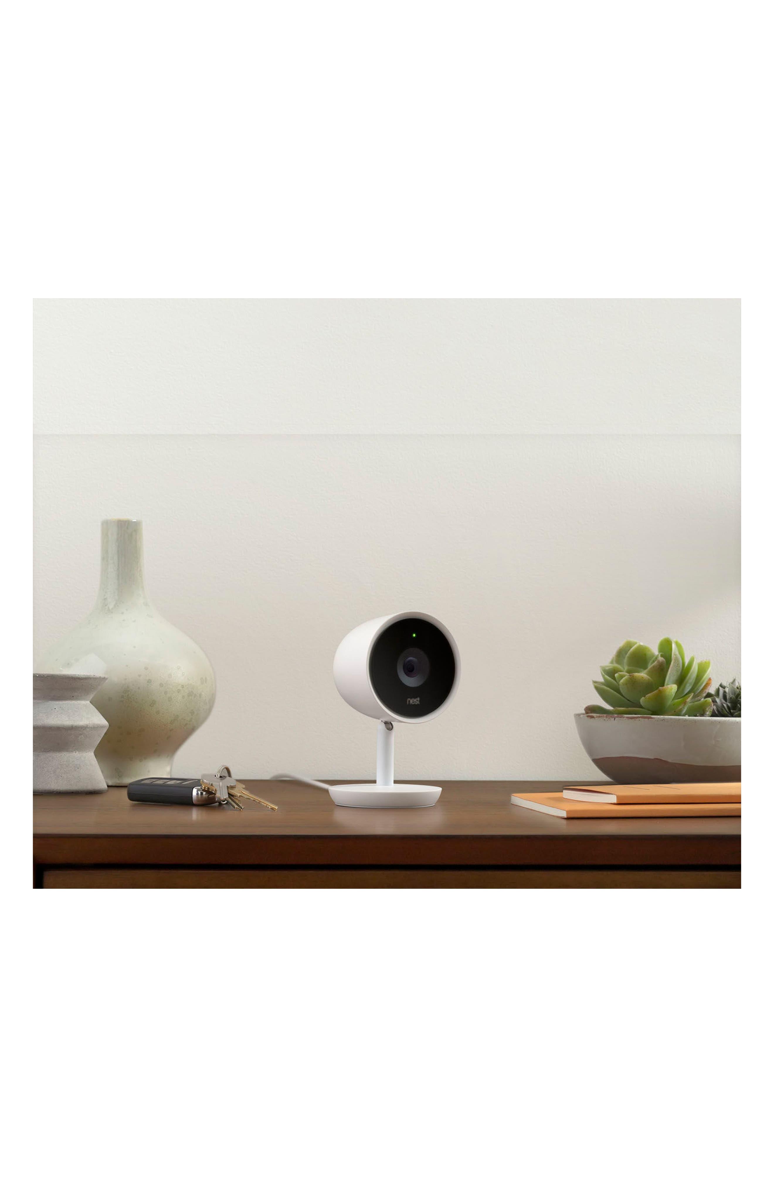 NEST, Cam IQ Indoor Security Camera, Alternate thumbnail 4, color, 100