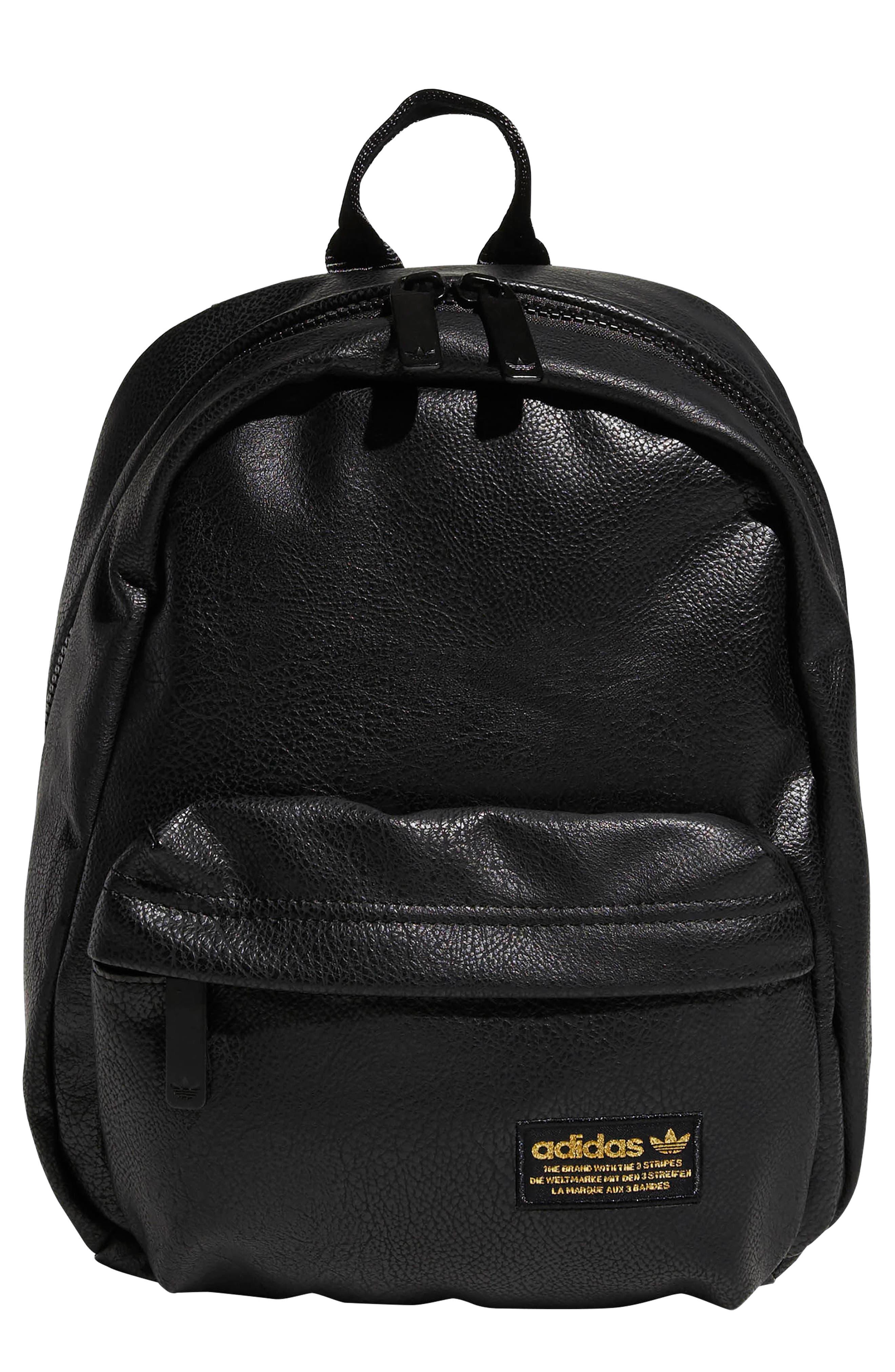 ADIDAS ORIGINALS, National Compact Backpack, Main thumbnail 1, color, 001