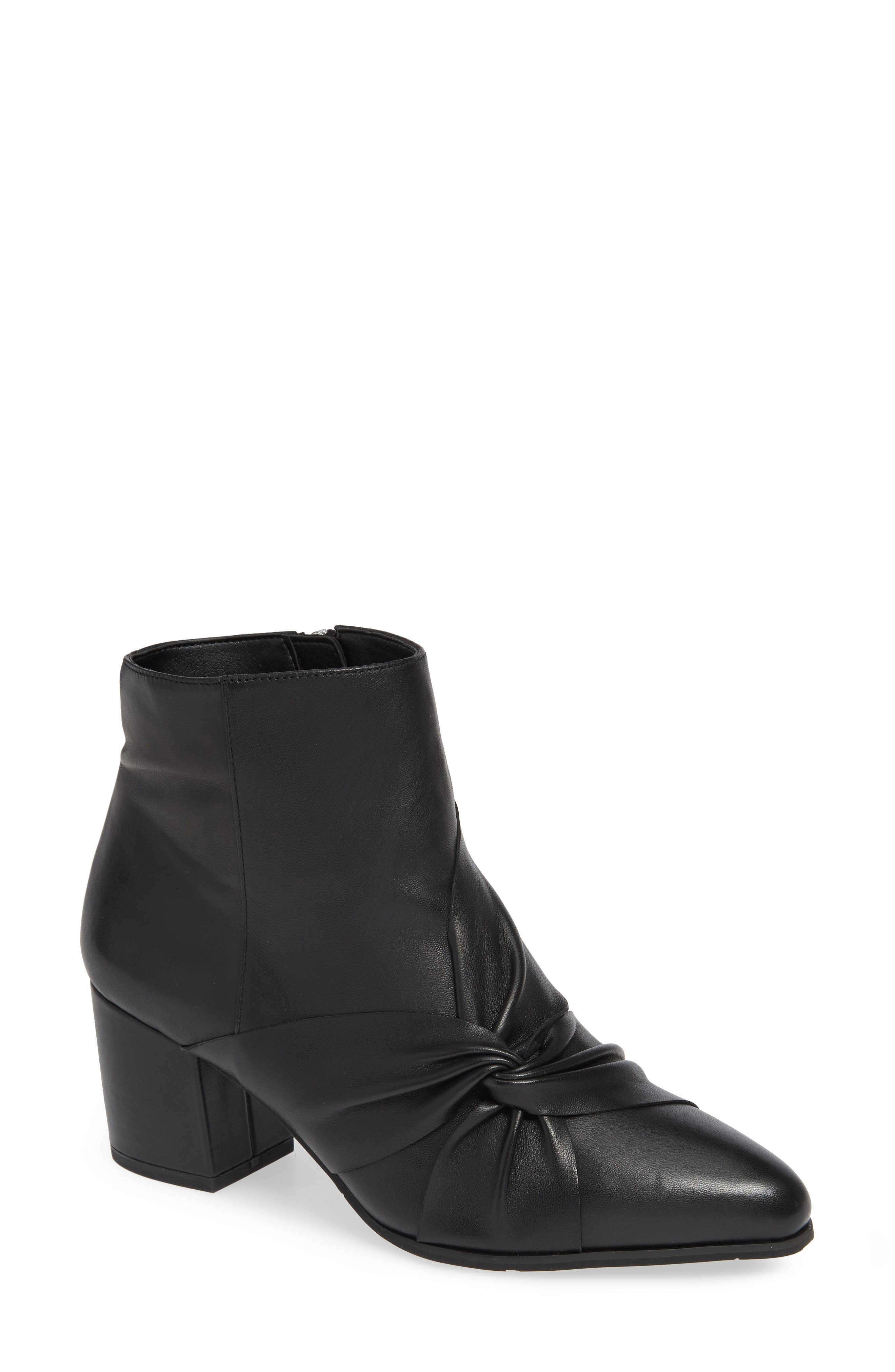 NIC+ZOE, Amorie II Bootie, Main thumbnail 1, color, BLACK LEATHER