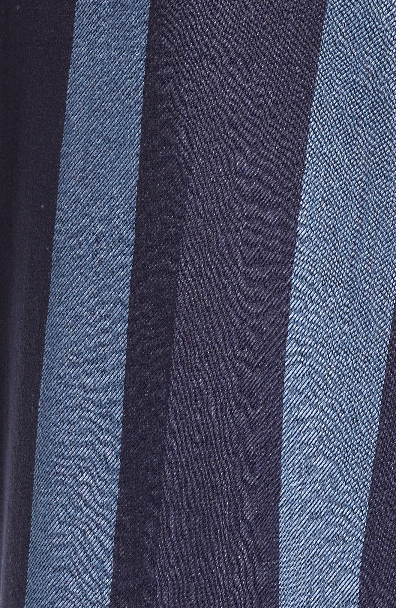 TOMMY X ZENDAYA, Stripe Denim Pants, Alternate thumbnail 6, color, STRIPED DENIM