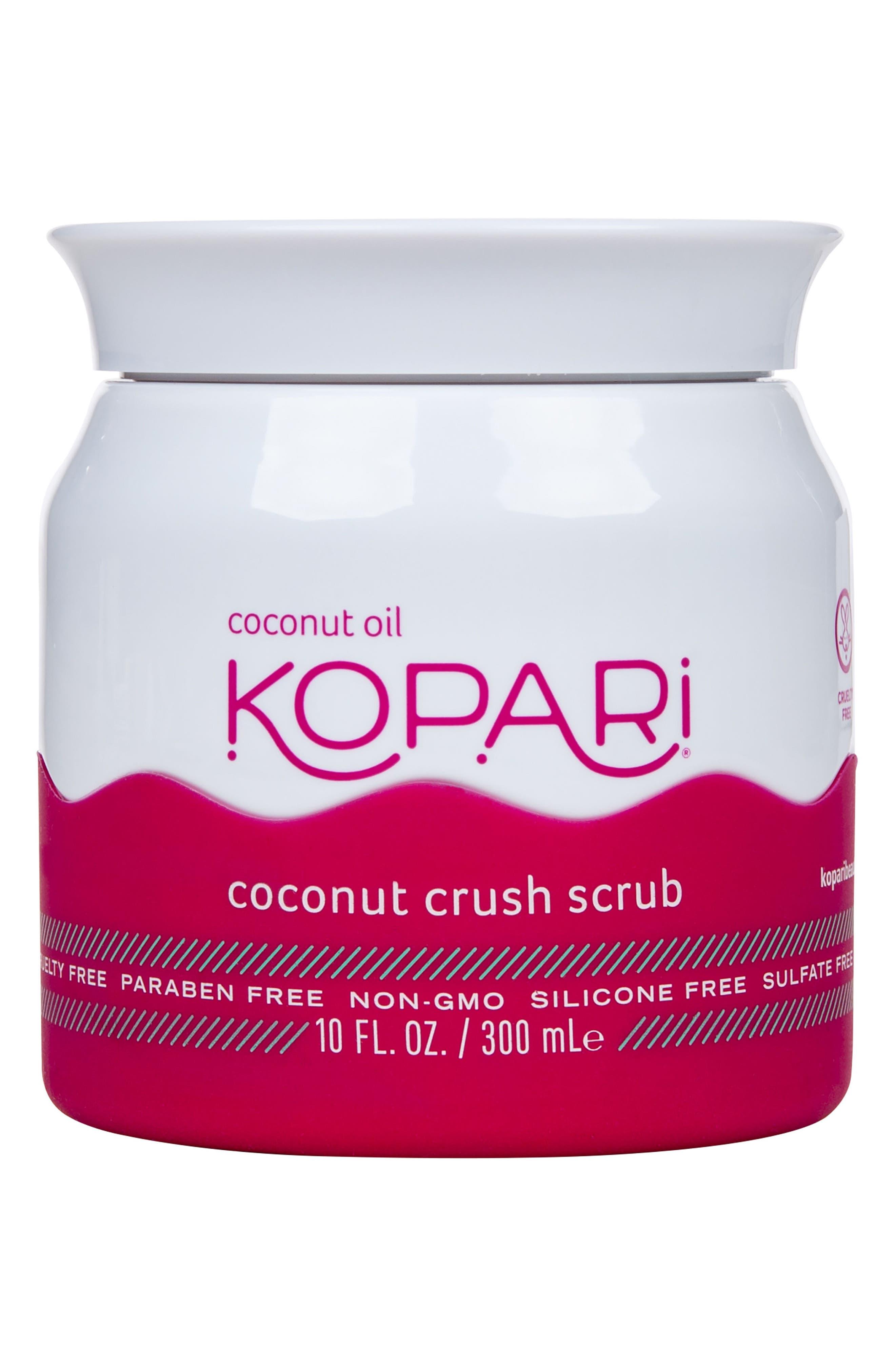 KOPARI, Coconut Crush Scrub, Main thumbnail 1, color, NO COLOR