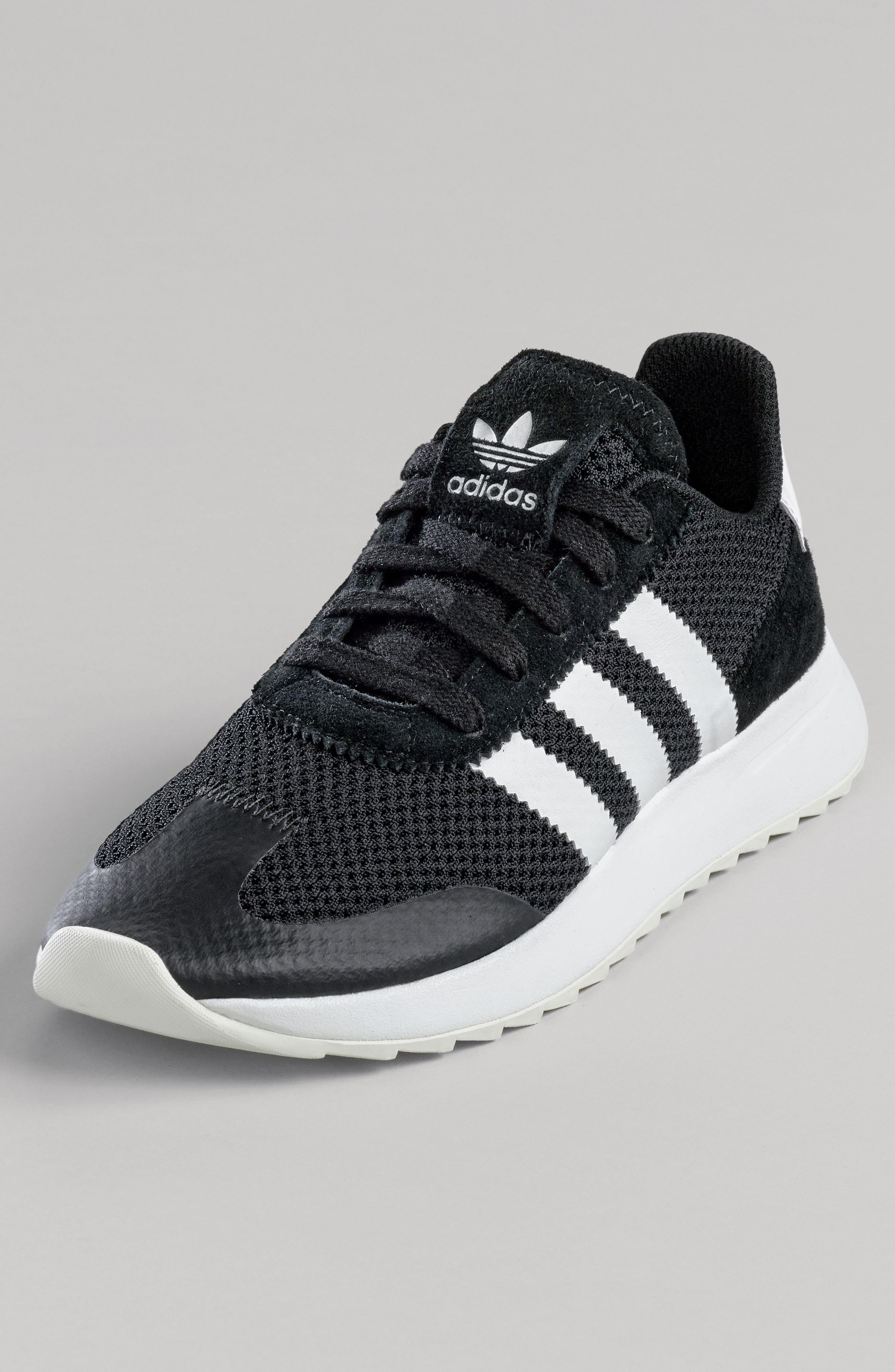 ADIDAS, Flashback Sneaker, Alternate thumbnail 7, color, 001