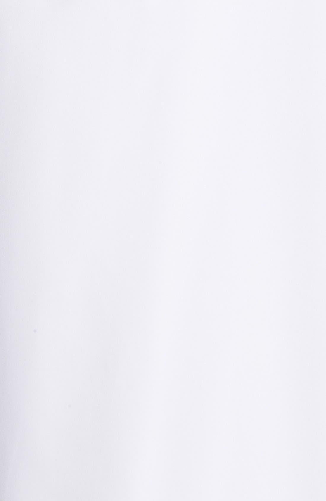 MAJESTIC INTERNATIONAL, Fleece Lined Robe, Alternate thumbnail 3, color, WHITE
