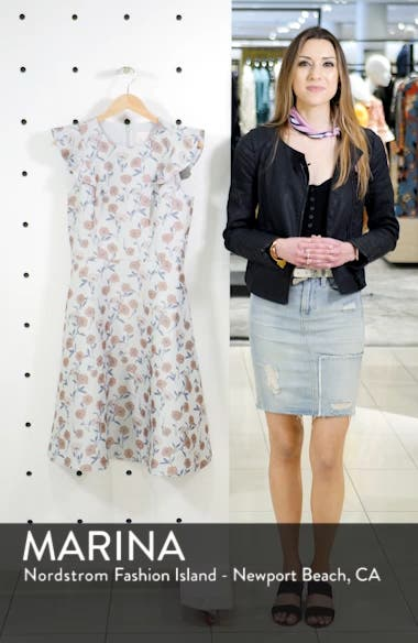Lola Dancing Daisy Jacquard Dress, sales video thumbnail