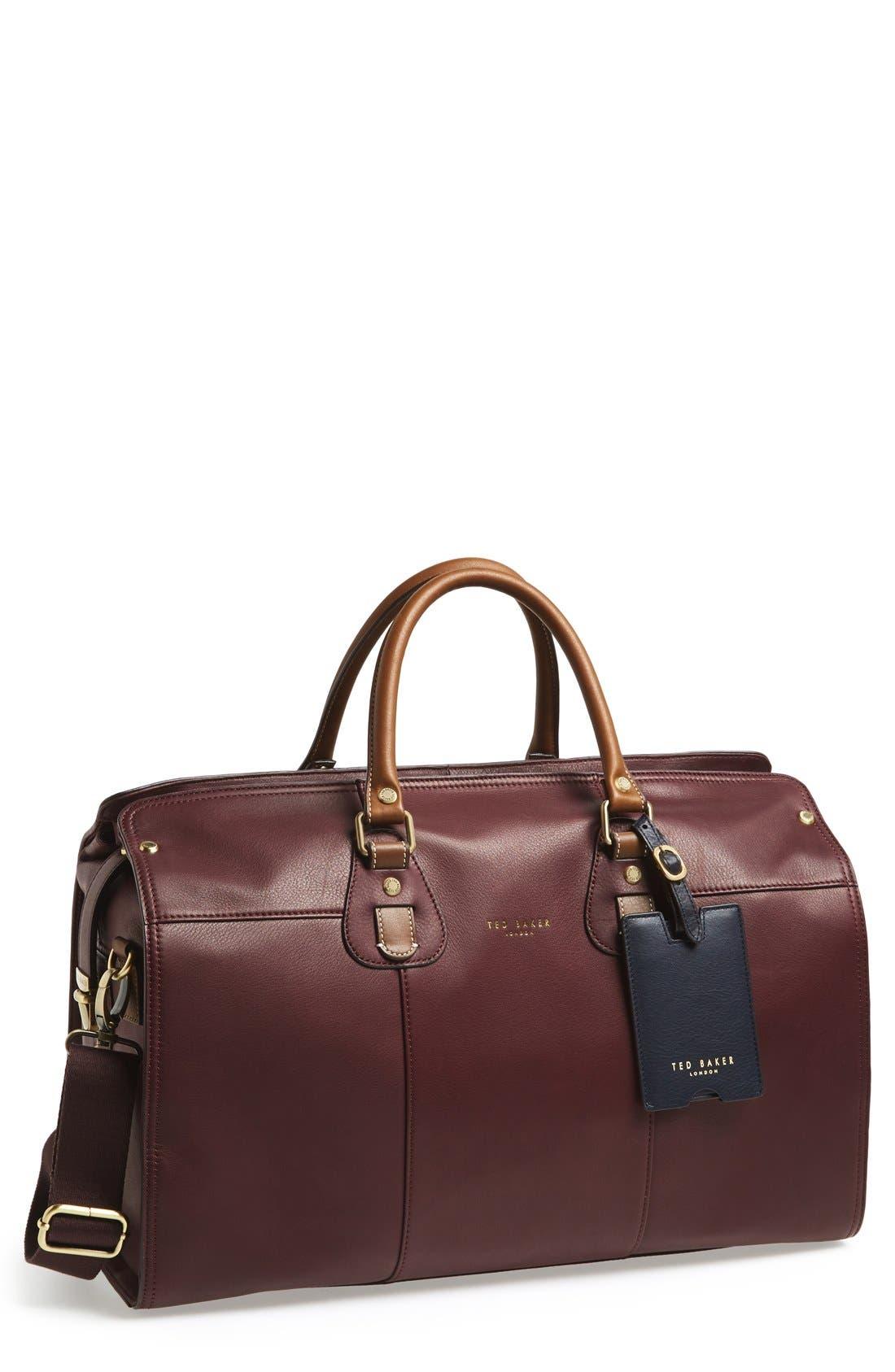 TED BAKER LONDON 'Kimyay' Duffel Bag, Main, color, 939