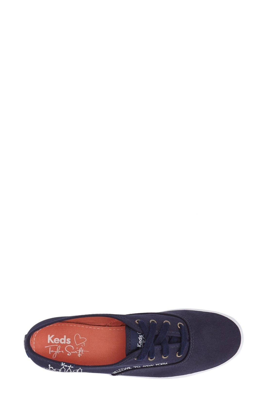 KEDS<SUP>®</SUP>, Taylor Swift 'Champion - NYC' Sneaker, Alternate thumbnail 2, color, 400